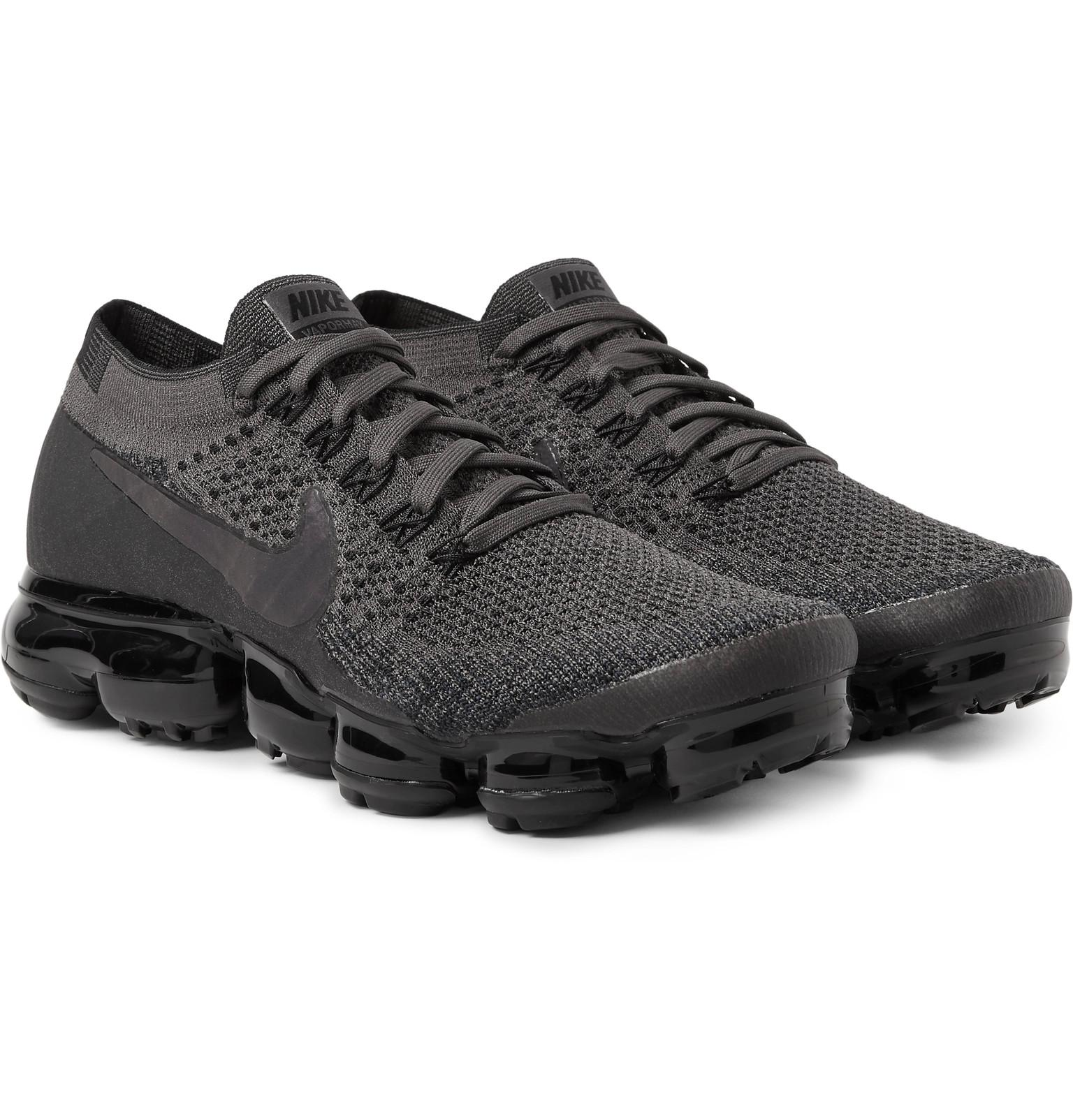 8e7d4c2cae73c2 Lyst - Nike - Lab Air Vapormax Flyknit Sneakers - Charcoal in Gray ...