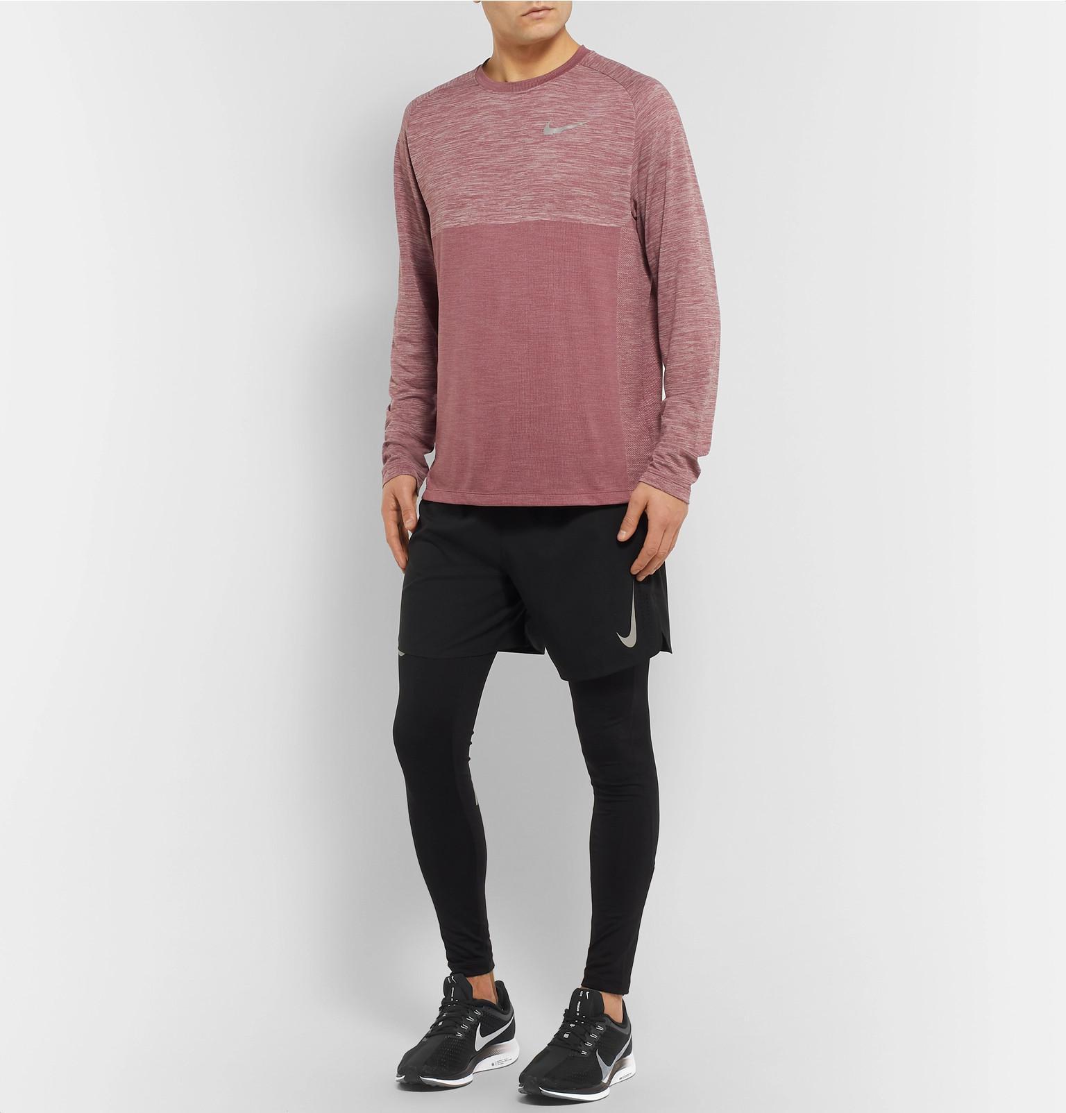 890a31363863 Nike - Black Air Zoom Pegasus Turbo Mesh Running Sneakers for Men - Lyst.  View fullscreen