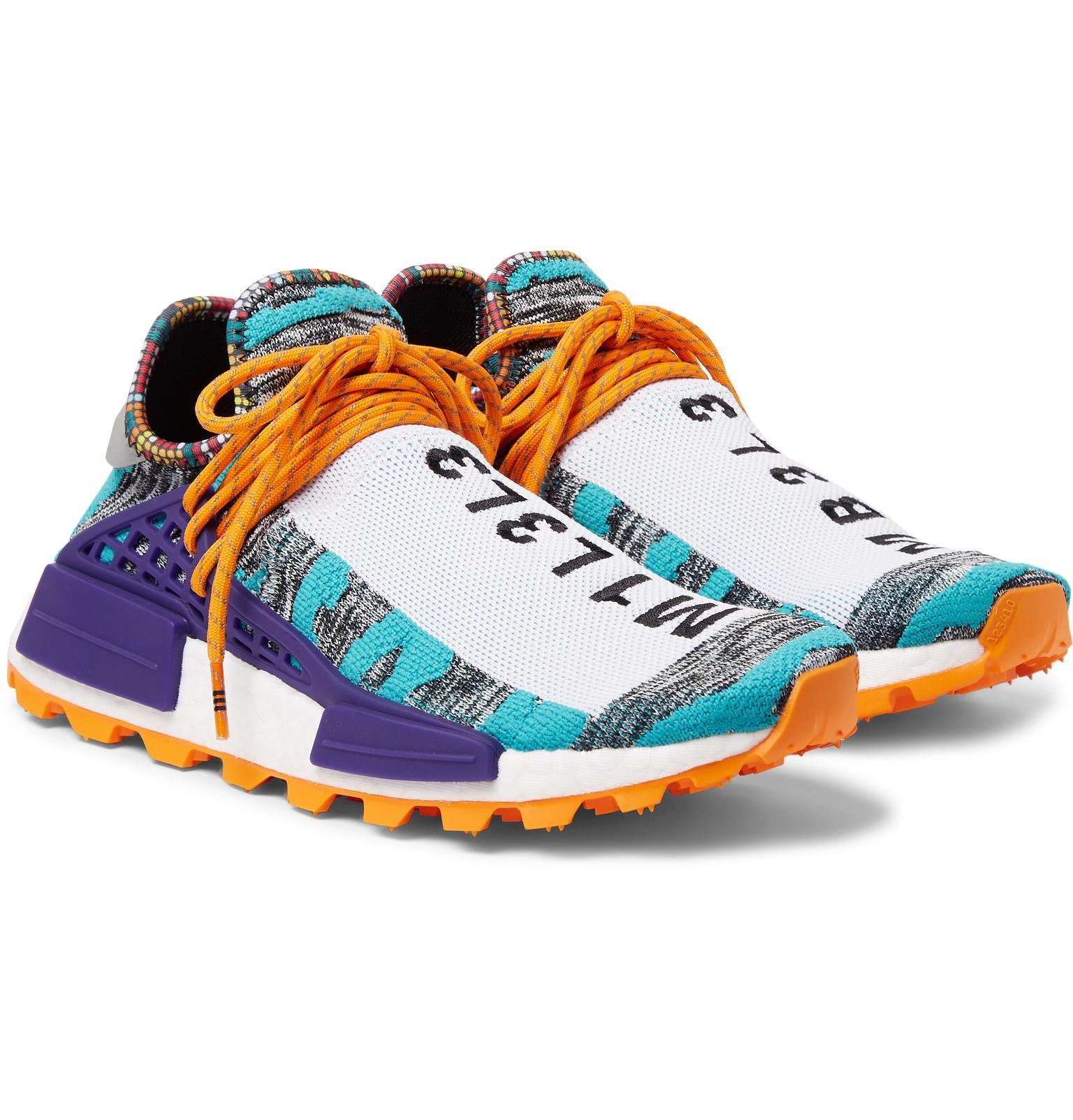 ac91d338431c0 adidas Originals + Pharrell Williams Solarhu Nmd Primeknit Sneakers ...