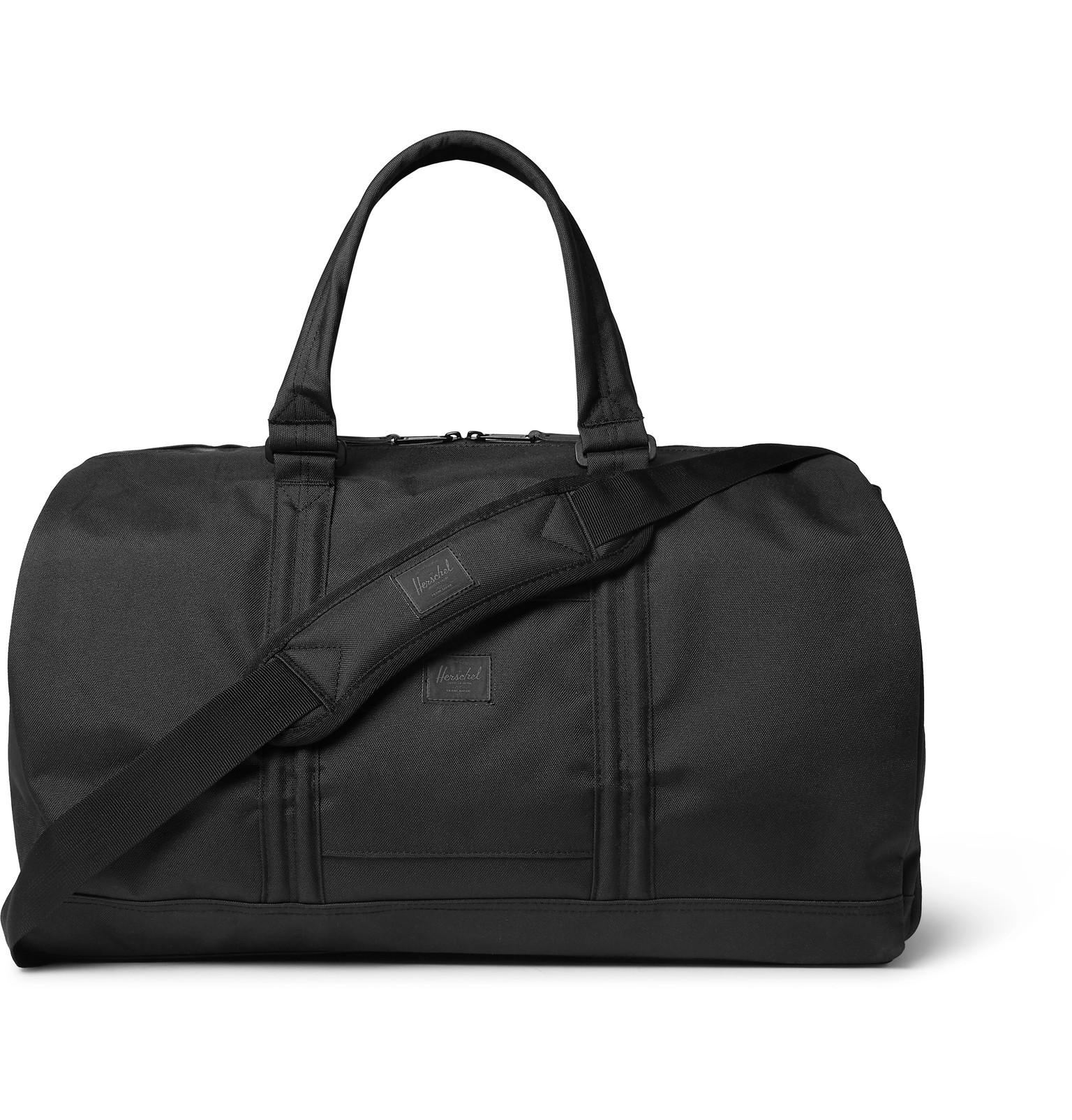 1ae2bce2fd8 Lyst - Herschel Supply Co. Foundation Canvas Duffle Bag in Black for Men