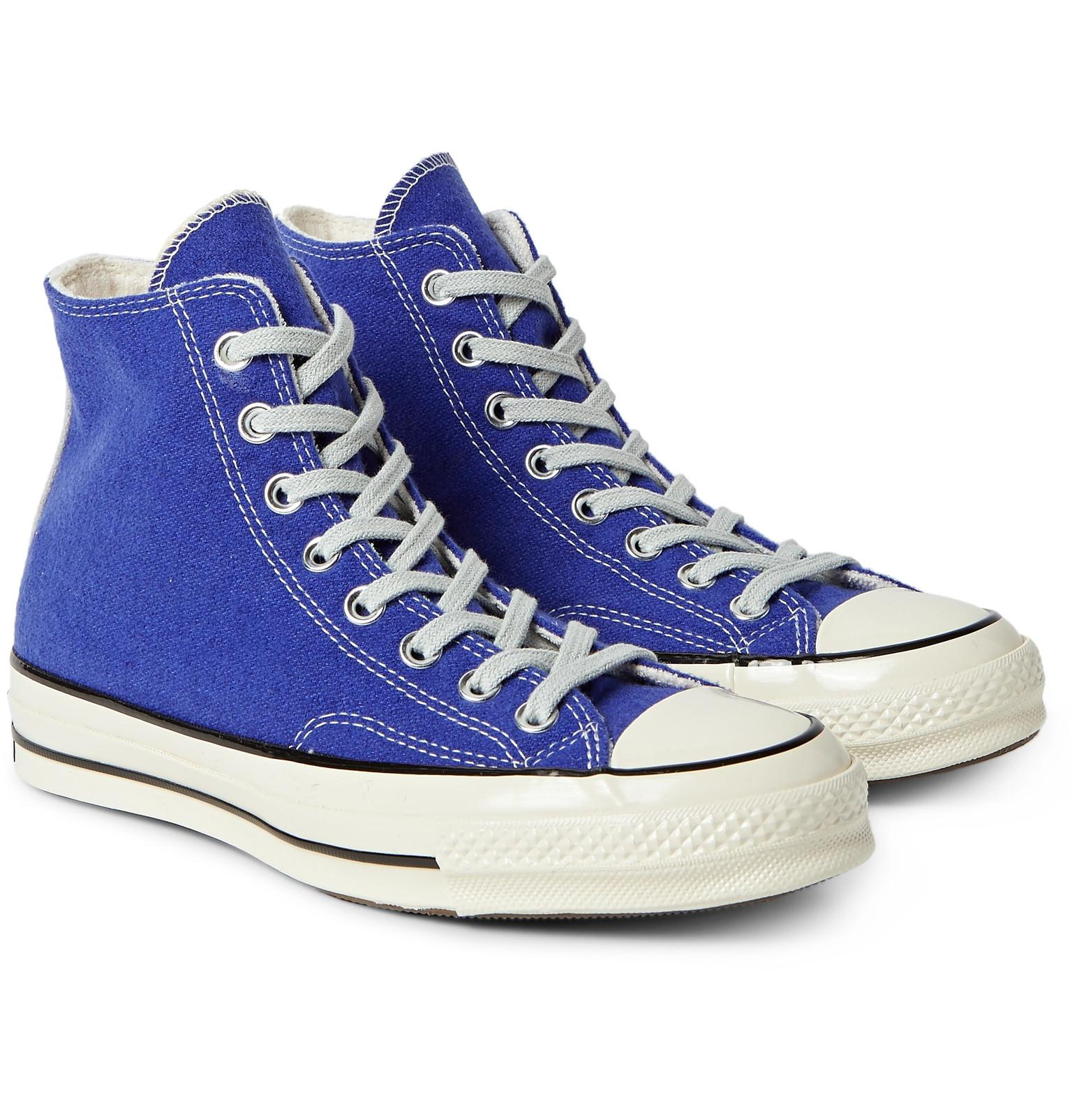 7e4874ba06f4 Lyst - Converse 1970s Chuck Taylor All Star Wool High-top Sneakers ...