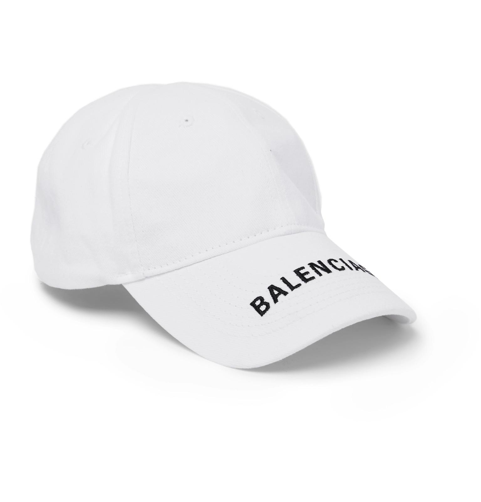 Balenciaga Cap in White - Save 69% - Lyst c1c0d7eba90