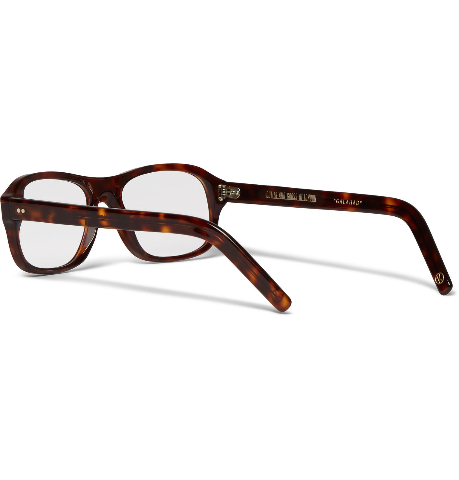 bb242a7ddc Kingsman - Multicolor Cutler And Gross Square-frame Tortoiseshell Acetate  Optical Glasses for Men -. View fullscreen