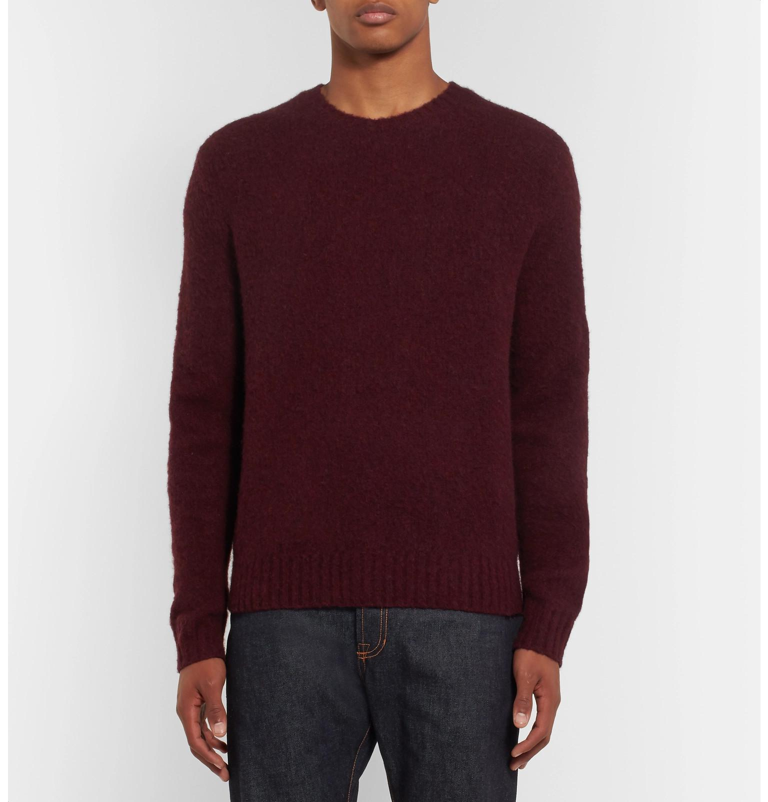 Suede Cashmere Ralph For Patch Polo Lauren Blend Fullscreen Multicolor Sweater Elbow Wool View And d811tqwxP
