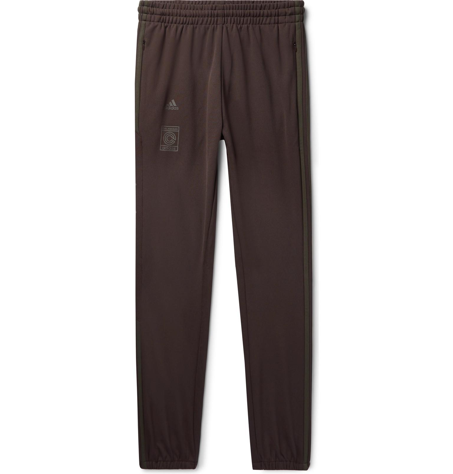 e133a25b adidas Originals + Yeezy Calabasas Striped Jersey Sweatpants in ...