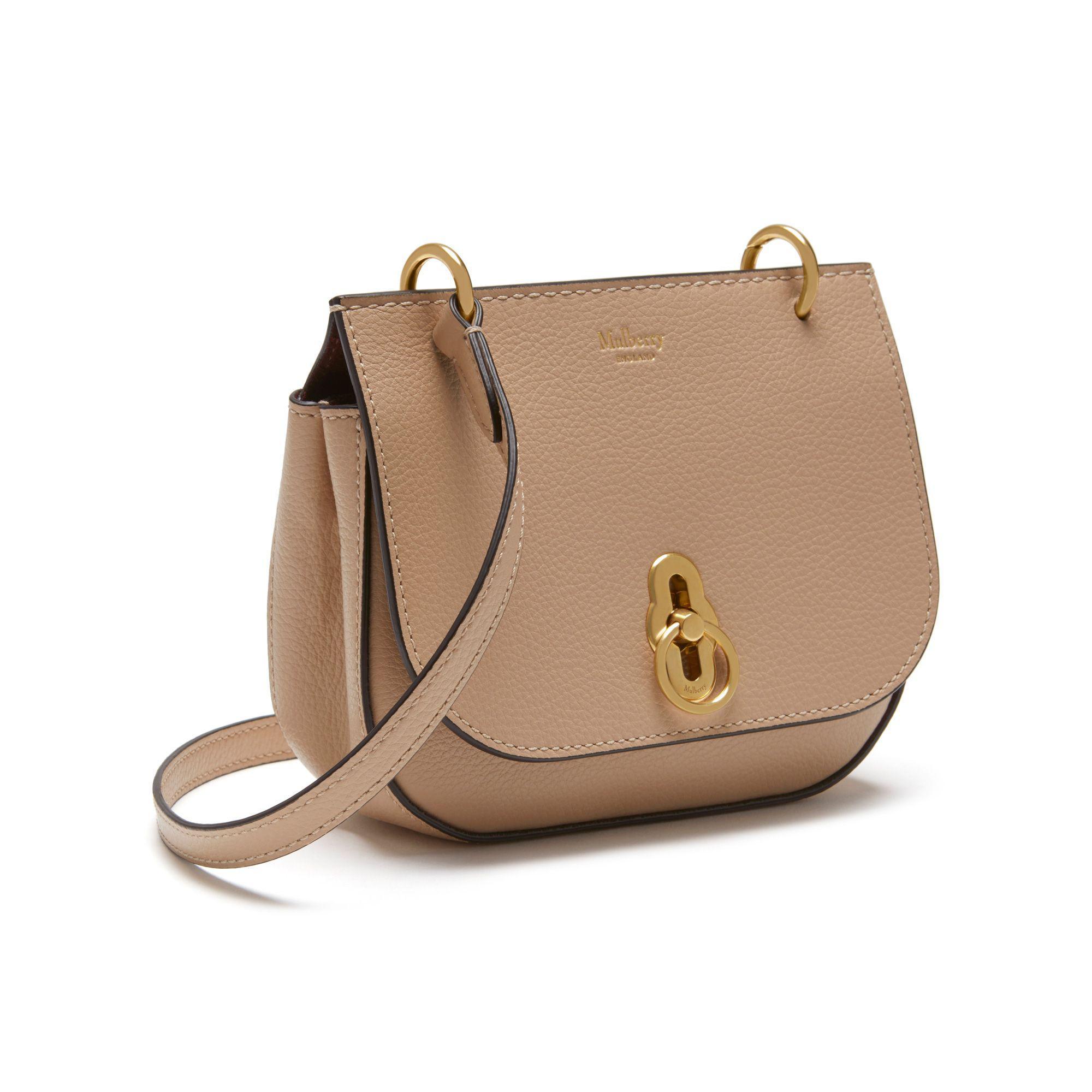 9e1c55328a ... canada lyst mulberry mini amberley satchel in black 0e0ce 6fd61