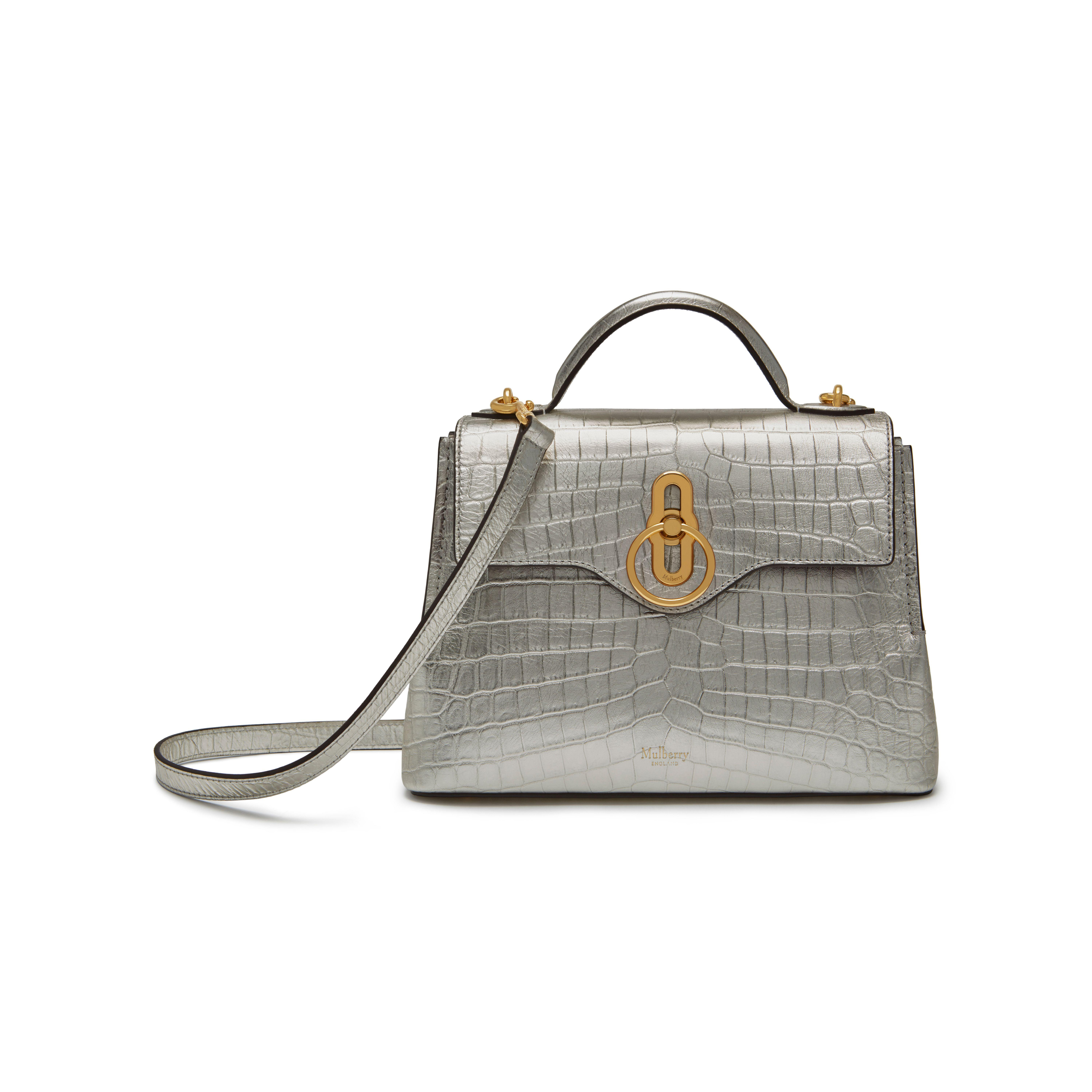 Mulberry Mini Seaton in Metallic - Lyst 86ffff68b6258