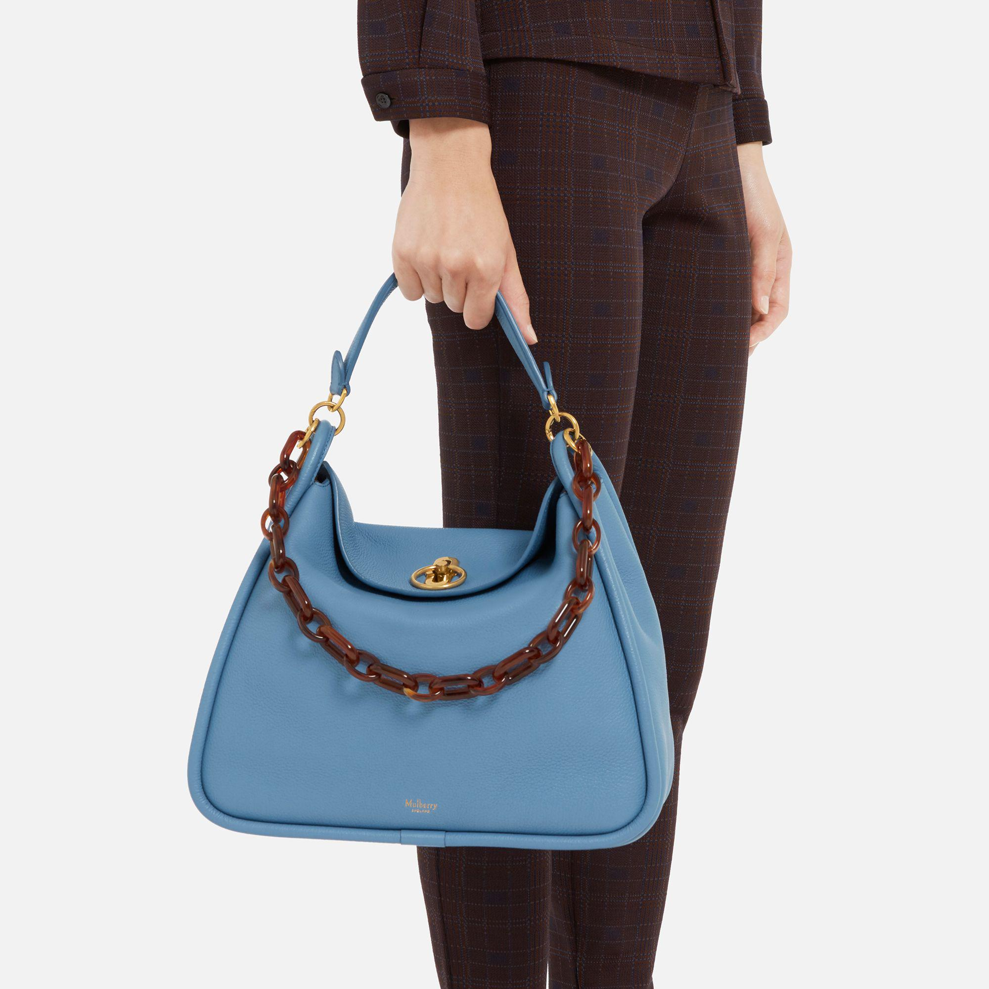 Mulberry Leighton in Blue - Lyst 490a3cf2b2b8f