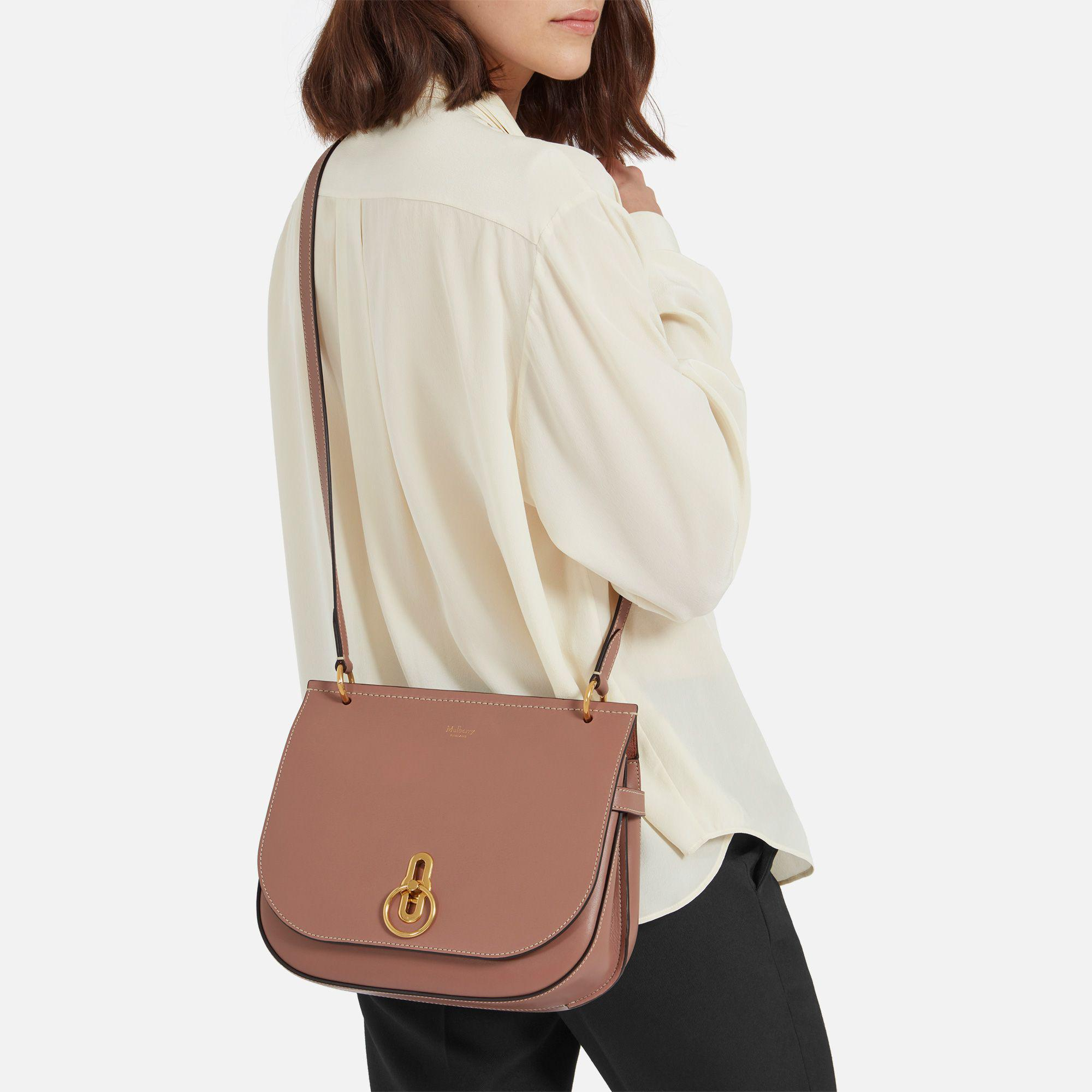 8208fa8e7e516 norway mulberry amberley pleated leather satchel bag selfridges 64af6  920a3  sale lyst mulberry amberley satchel in brown 946e9 a1d09