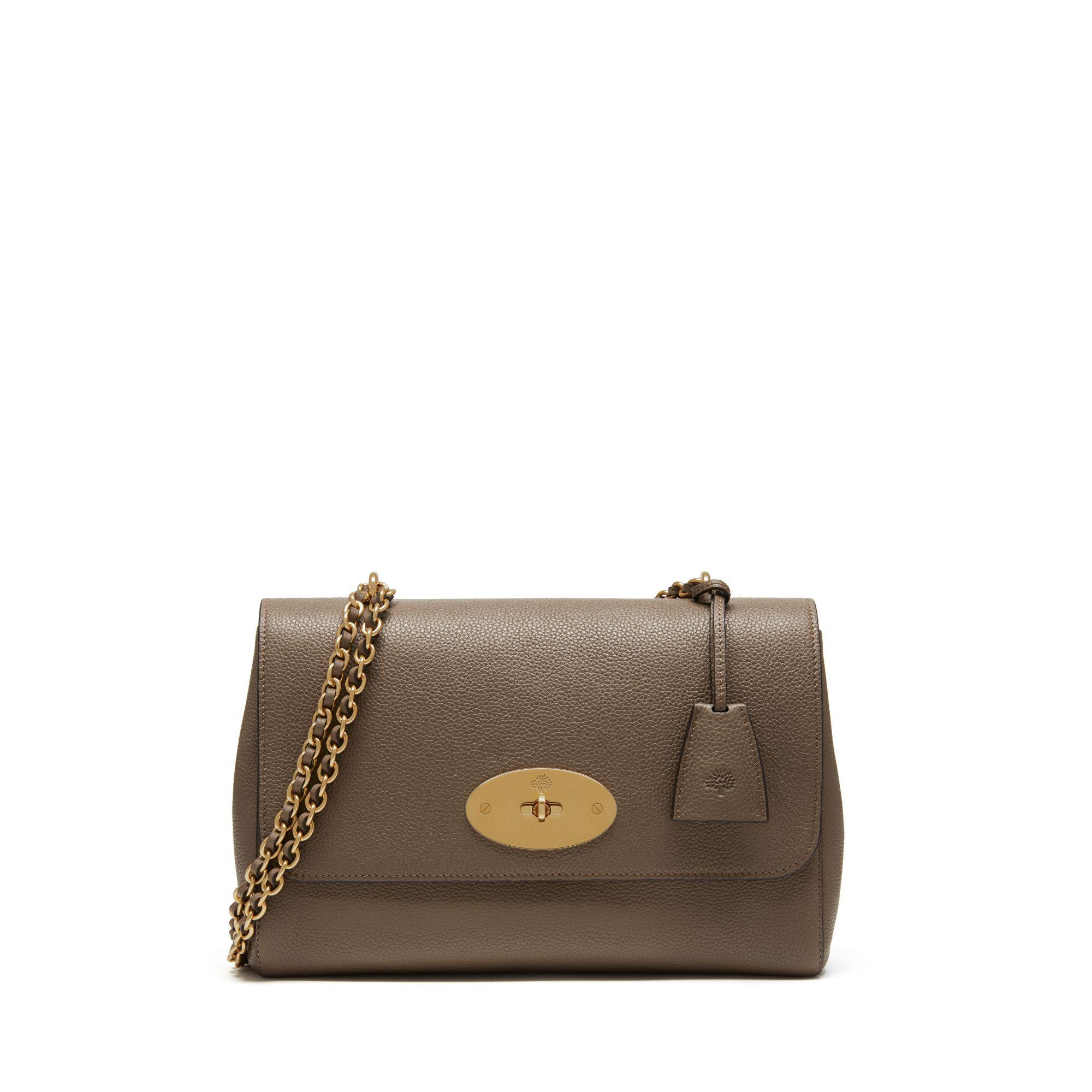 8380a23a514 Tap to visit site. Mulberry - Multicolor Medium Lily In Clay Small Classic  Grain - Lyst