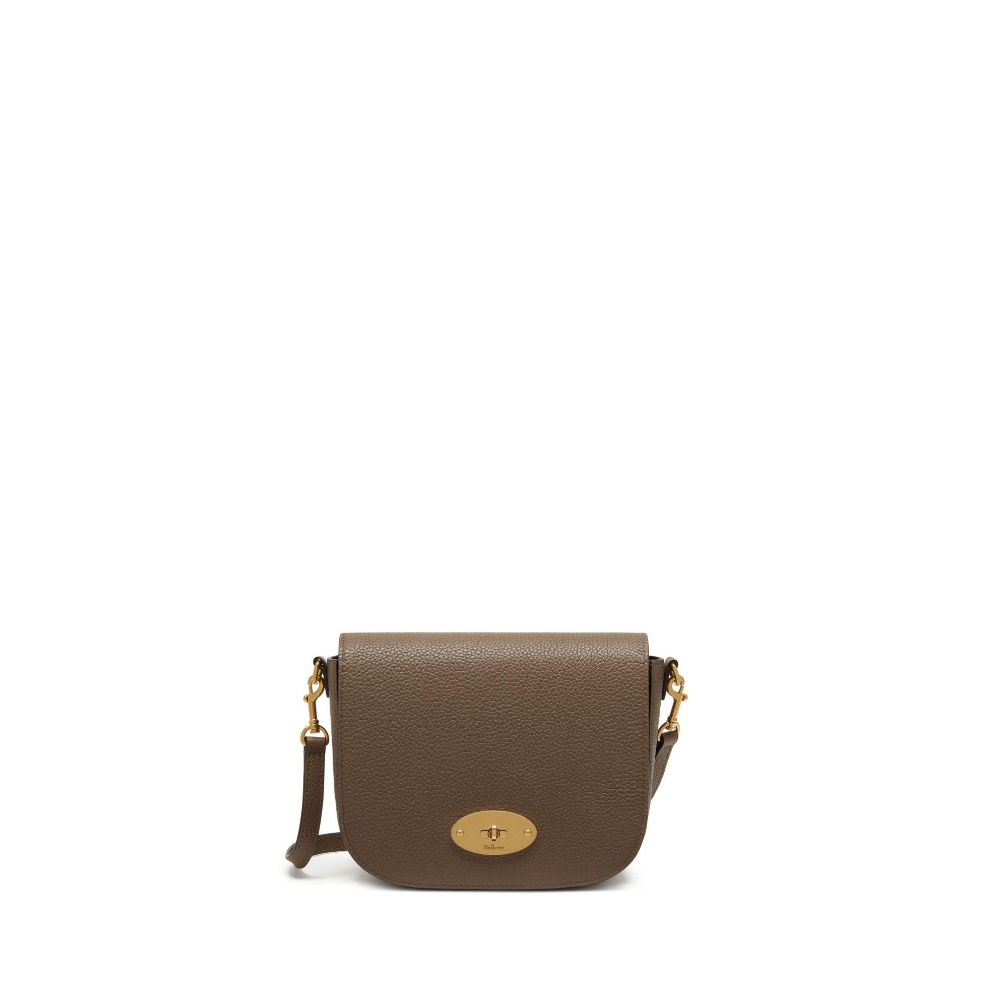 096cbaae9871 Mulberry - Brown Small Darley Satchel In Clay Small Classic Grain - Lyst.  View fullscreen