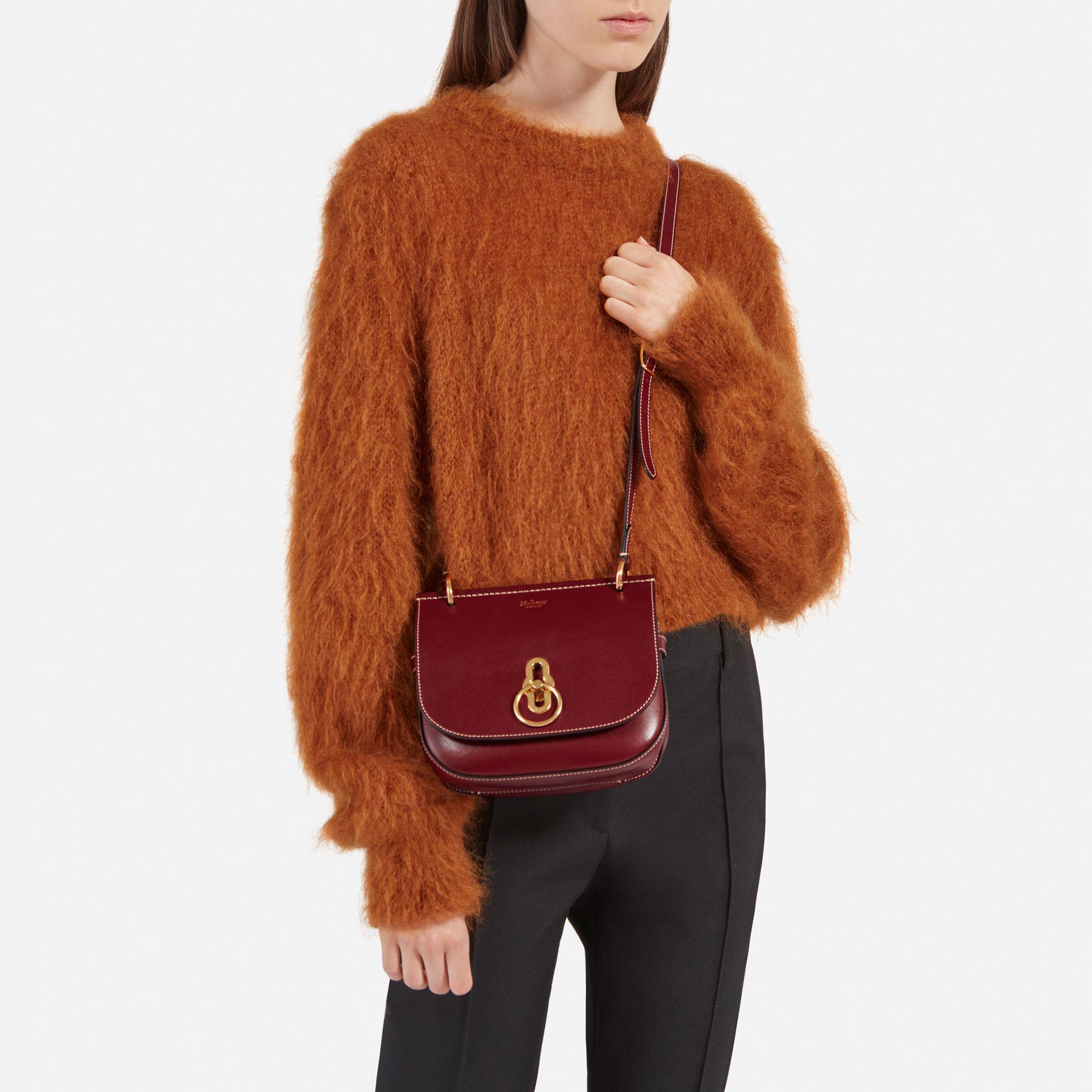 b018f3af63bc buy lyst mulberry small amberley satchel in black 33a57 817fb