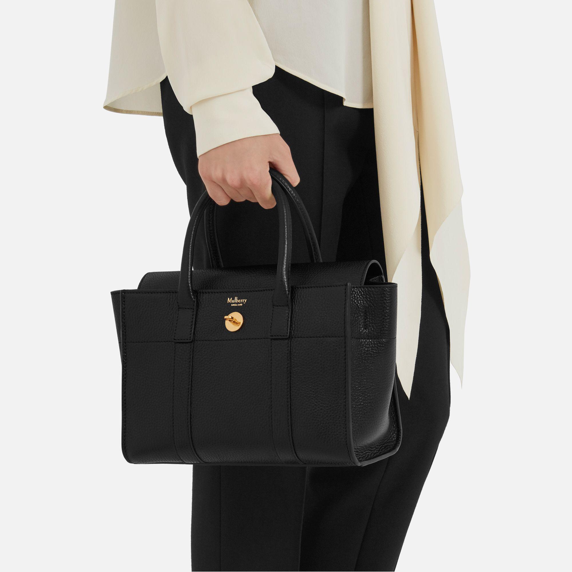 ... wholesale mulberry black small bayswater satchel bag lyst. view  fullscreen f1250 dc18b ... 5db530d40c03a