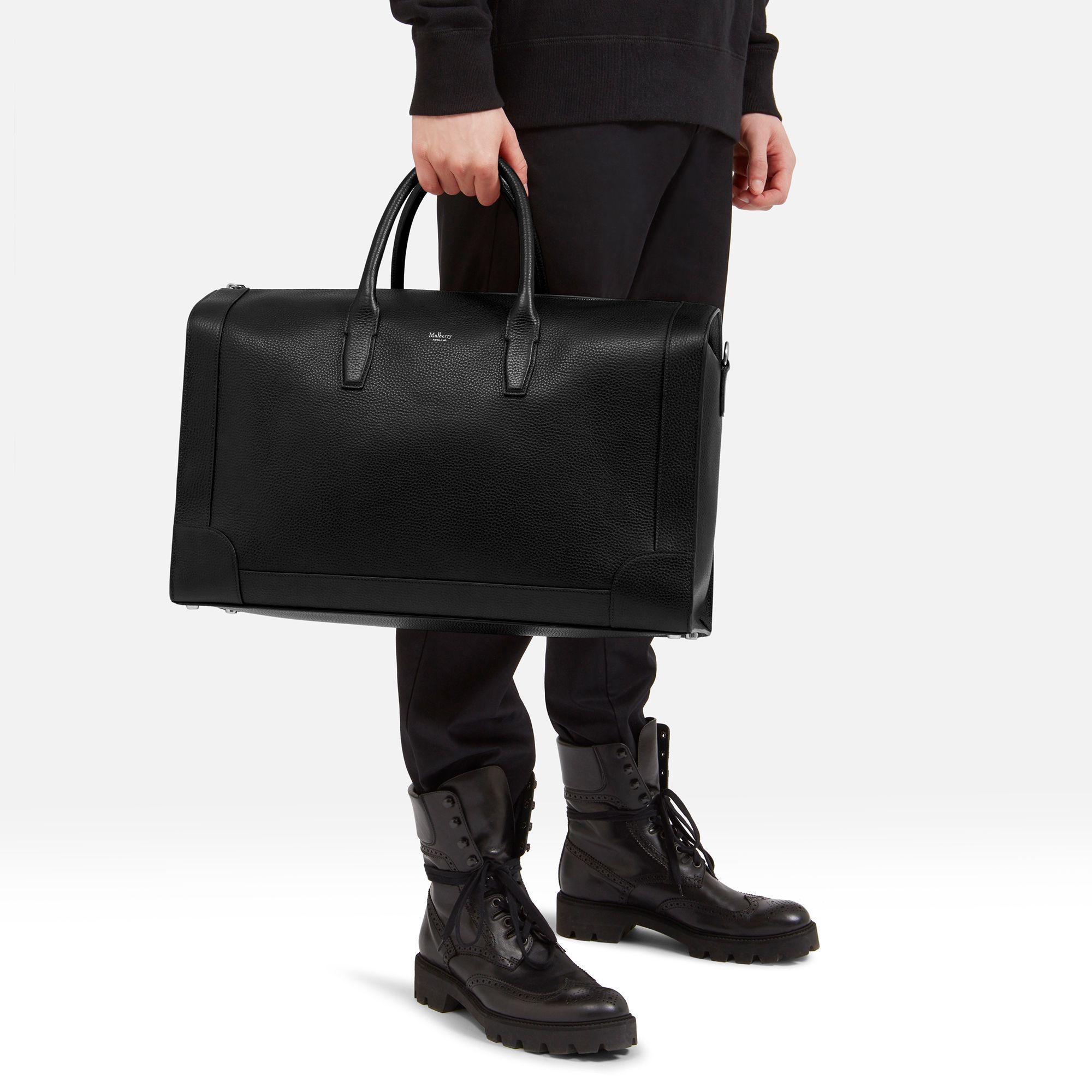 2928d47fb9d6 ... sweden lyst mulberry belgrave travel bag in black for men 2e91d 3ebdf