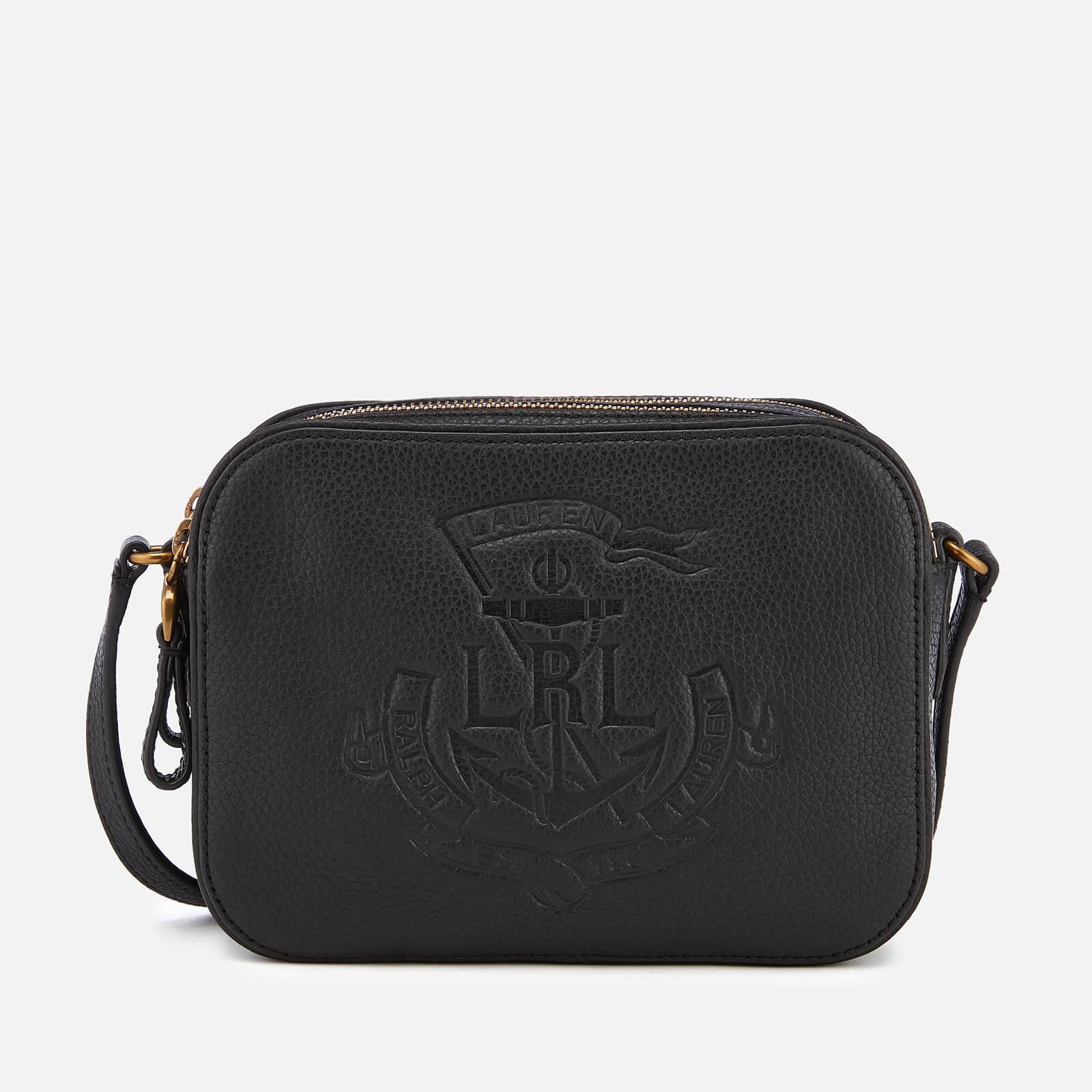 Lyst - Lauren by Ralph Lauren Huntley Medium Camera Bag in Black ... 07ce12d1c4f4b