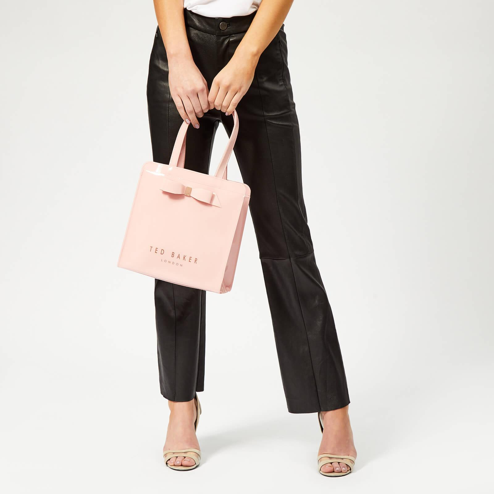 e160b8b79e6 Ted Baker - Pink Arycon Bow Detail Small Icon Bag - Lyst. View fullscreen