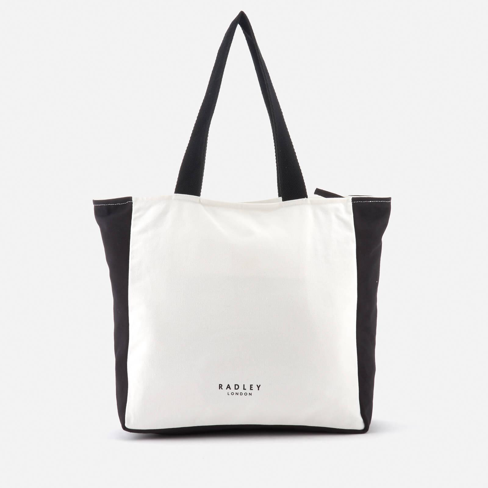 fb22ff96c3 Lyst - Radley All That Glitters Large Zip Top Tote Bag in White