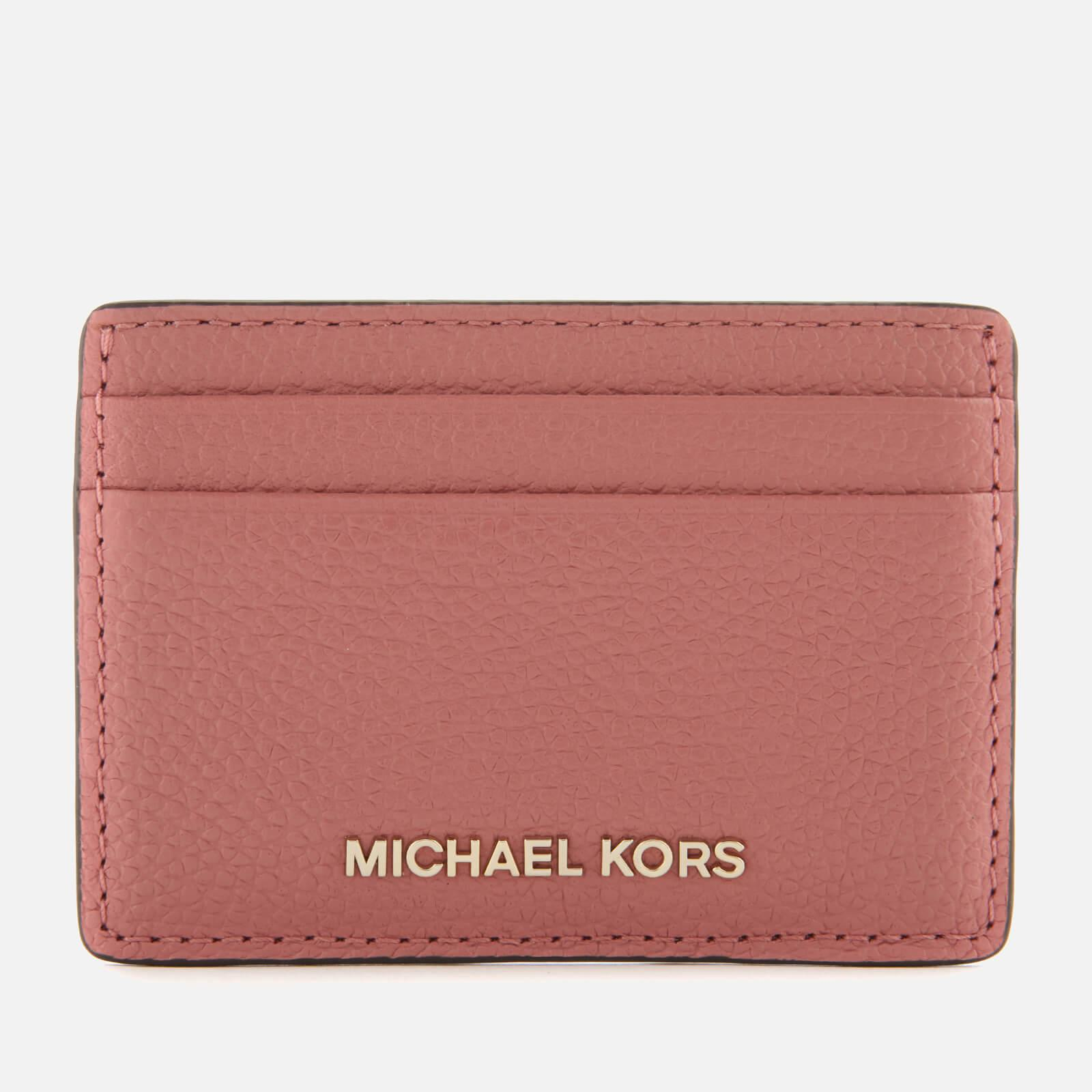 Michael Michael Kors Money Pieces Card Holder in Pink - Lyst bc5e188399753