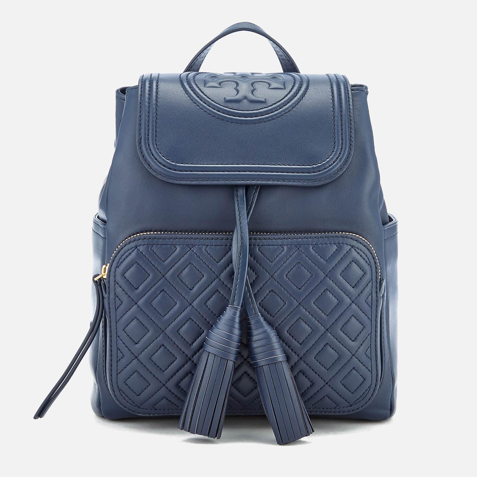 ab2e2507f78d Tory Burch Fleming Backpack in Blue - Lyst