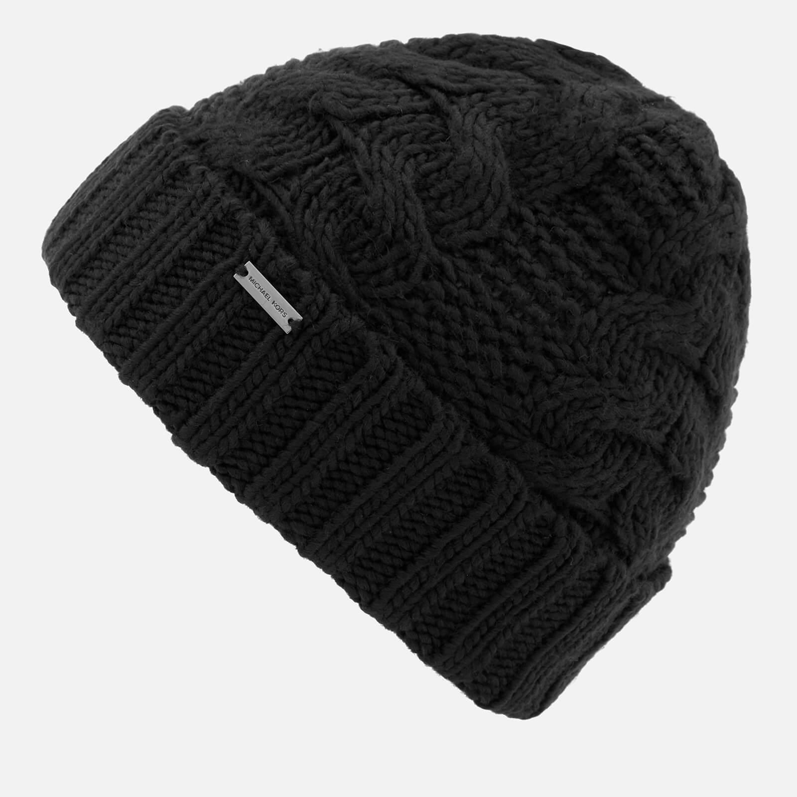 89f2dc0a9cd Michael Kors Link Cable Cuff Hat in Black for Men - Lyst