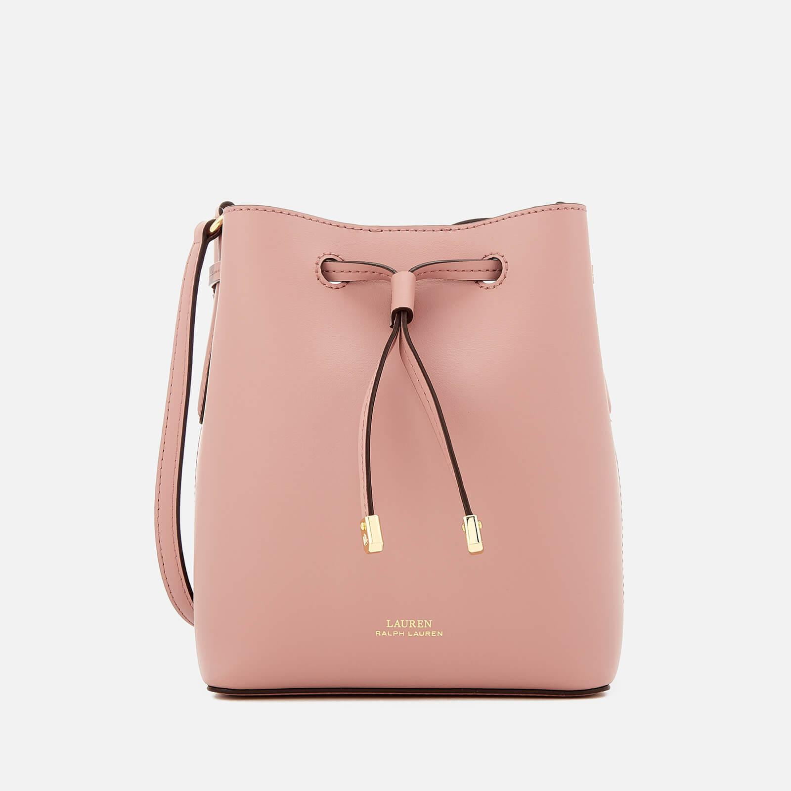 Lauren by Ralph Lauren Dryden Debby Mini Drawstring Bag in Pink - Lyst d6d7402b438d5