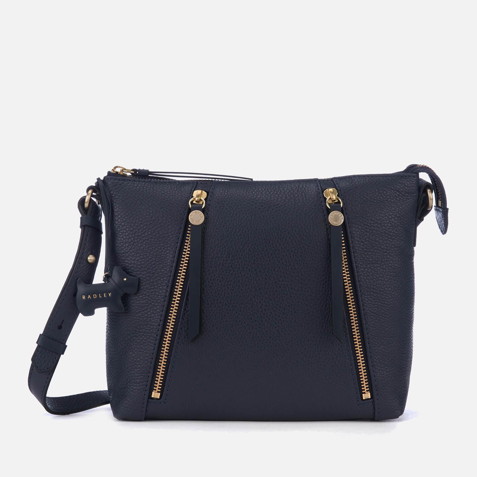 Radley Fountain Road Medium Cross Body Zip Top Bag in Blue - Lyst aaa7df362756c