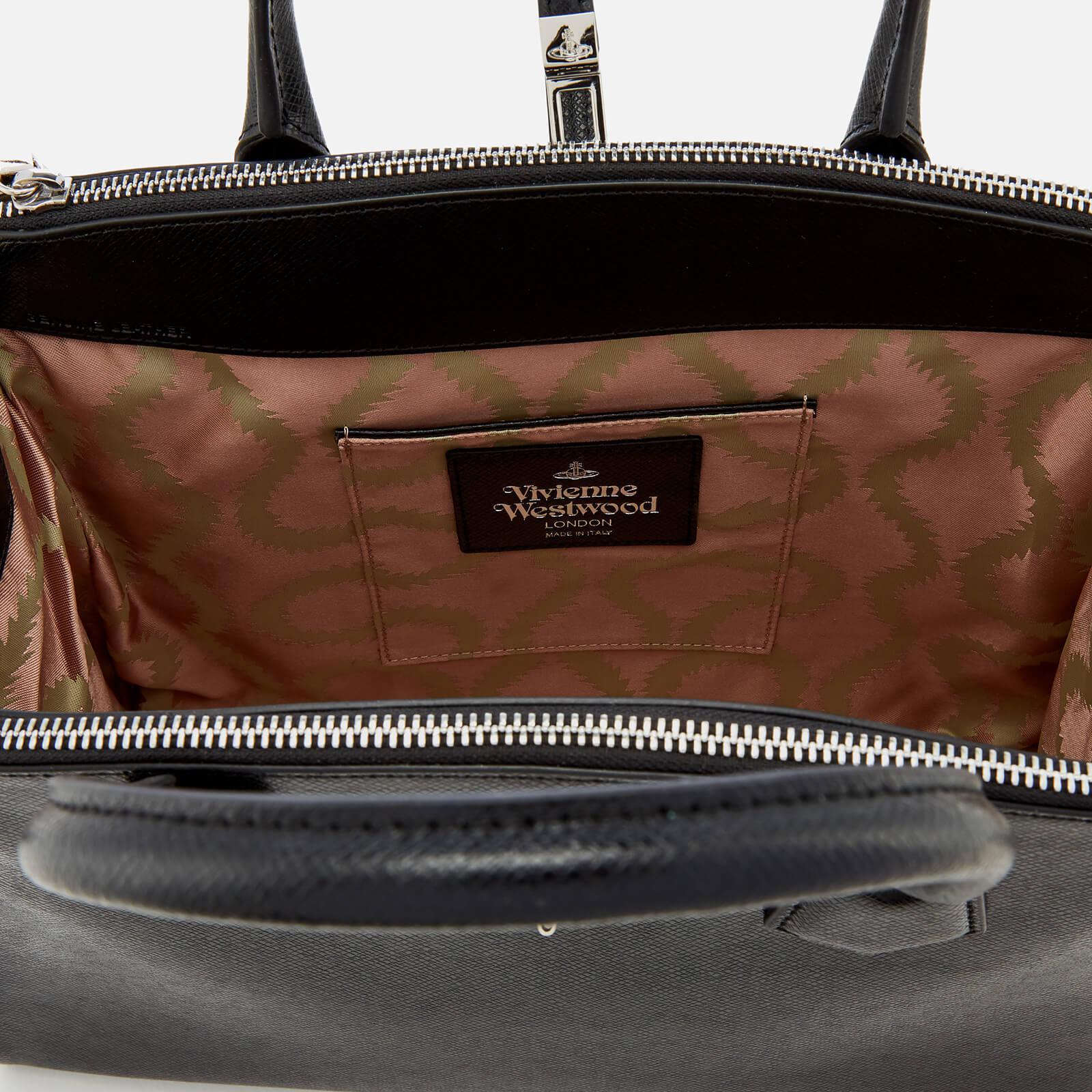 52ed254988 Vivienne Westwood Sofia Office Bag in Black - Lyst
