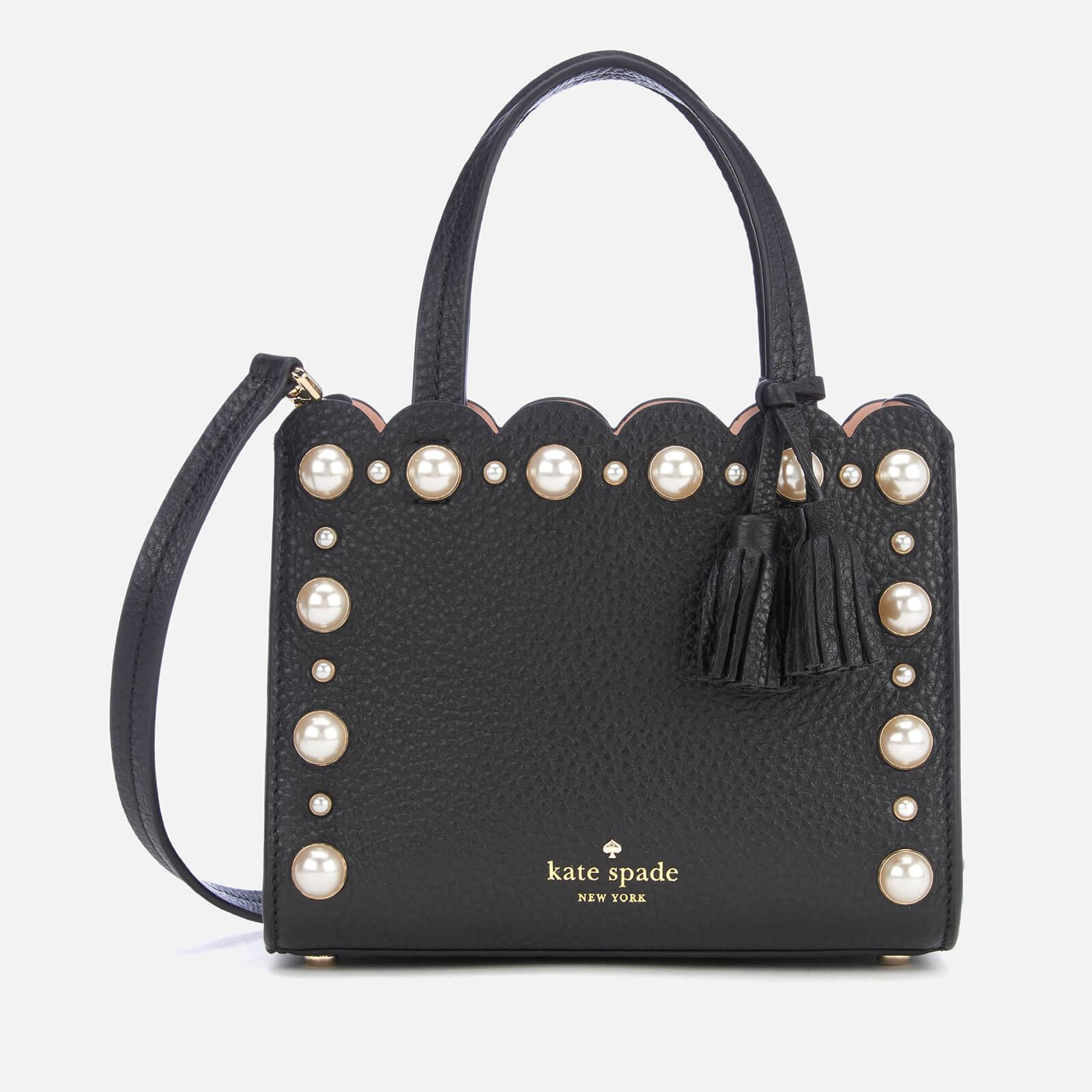 dc3c1307fada Kate Spade - Black Hayes Street Pearl Small Sam Bag - Lyst. View fullscreen