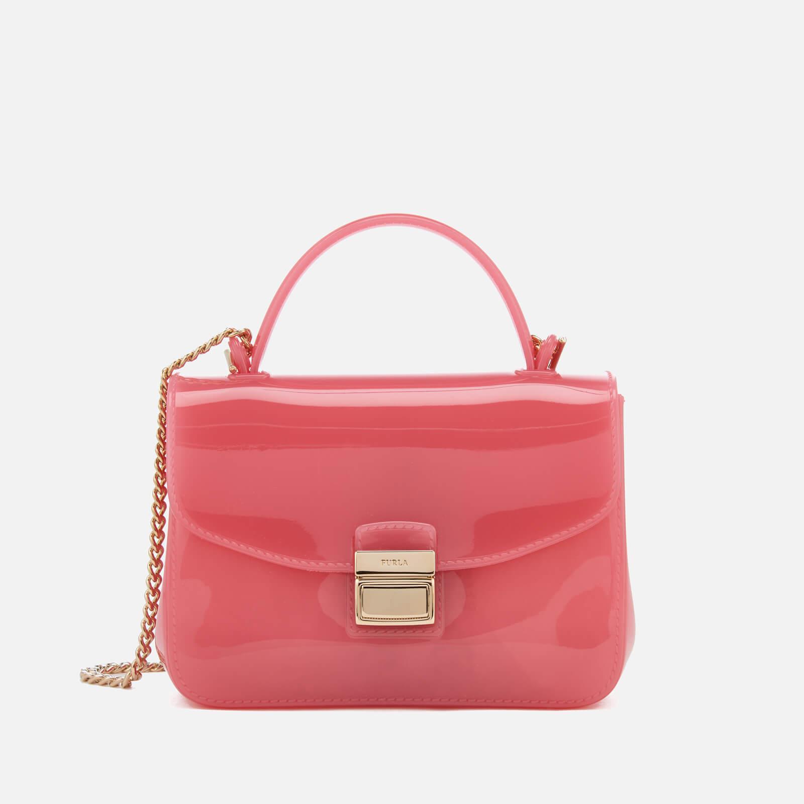 Furla Candy Sugar Mini Cross Body Bag in Pink
