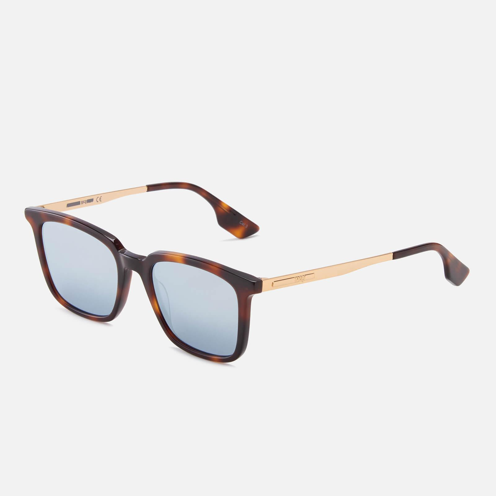 ffb1474ab0 McQ Alexander McQueen - Multicolor Tortoise Shell Sunglasses - Lyst. View  fullscreen