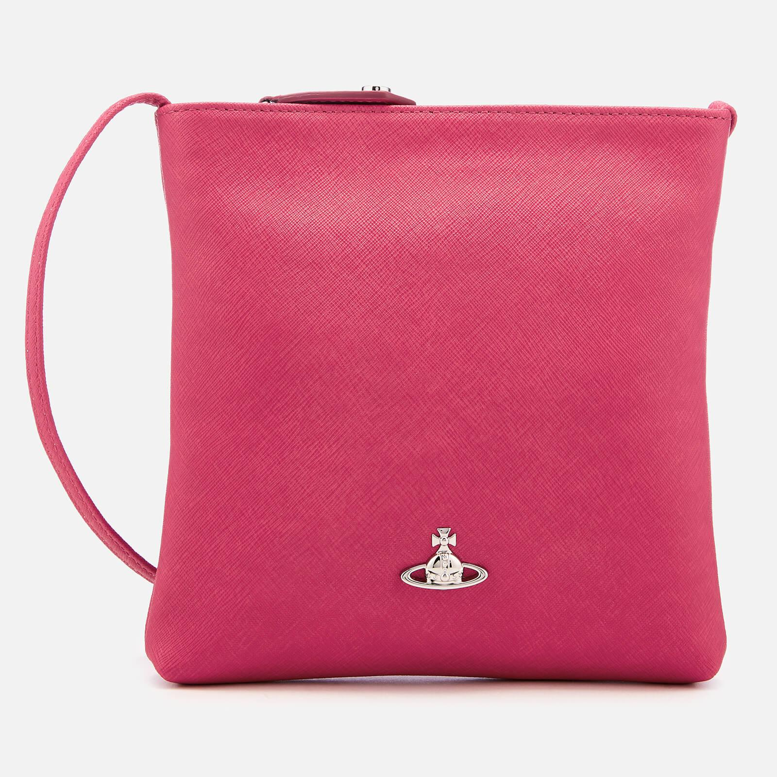 7646e1389d79 Vivienne Westwood Victoria Square Cross Body Bag in Pink - Lyst