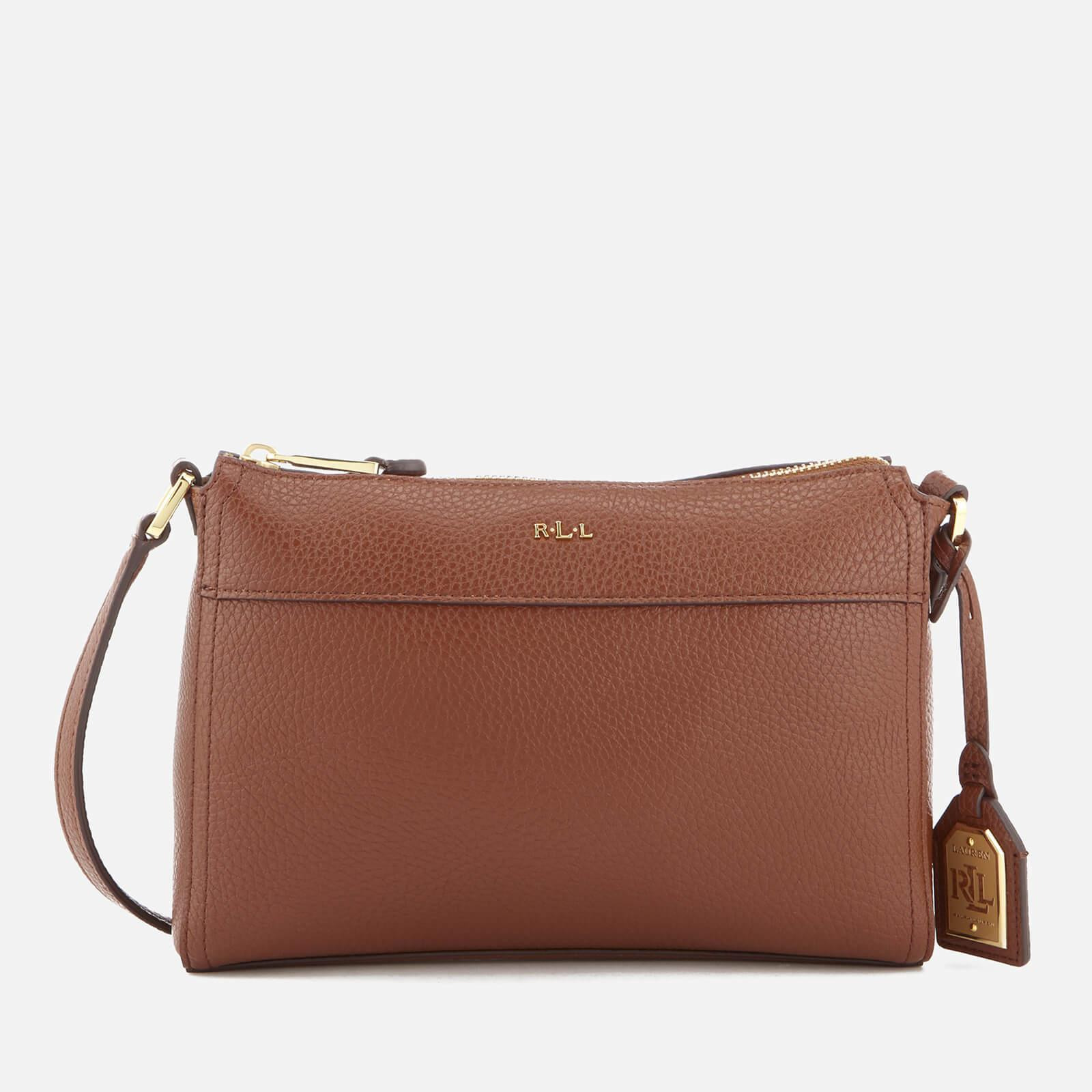 Lauren By Ralph Lauren Milford Brooklyn Cross Body Bag in Brown - Lyst 8418f6d1cc