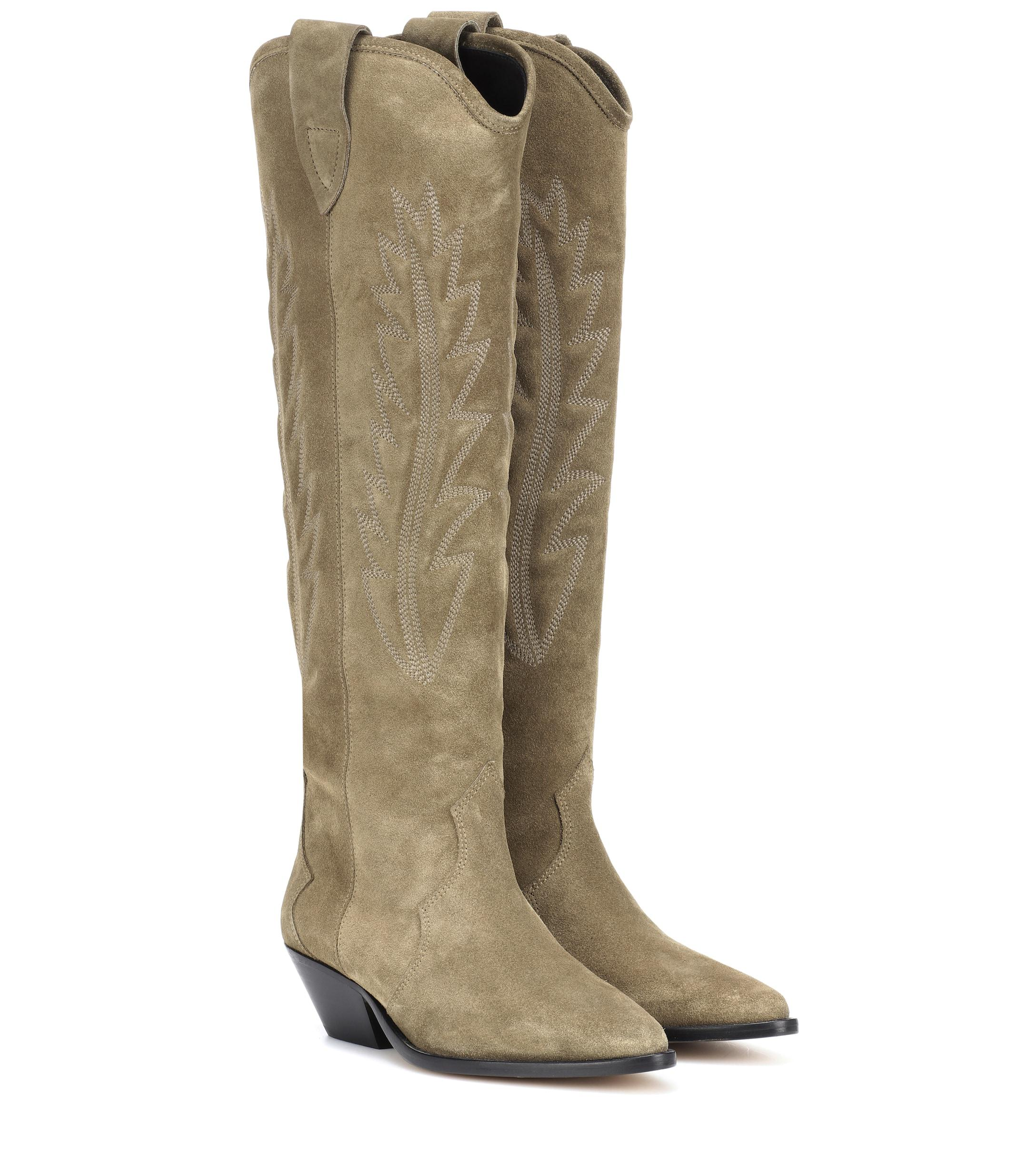 da9a351b7cb Isabel Marant. Women s Denzy Suede Cowboy Boots. £565 From Mytheresa. Free  shipping with Mytheresa on ...