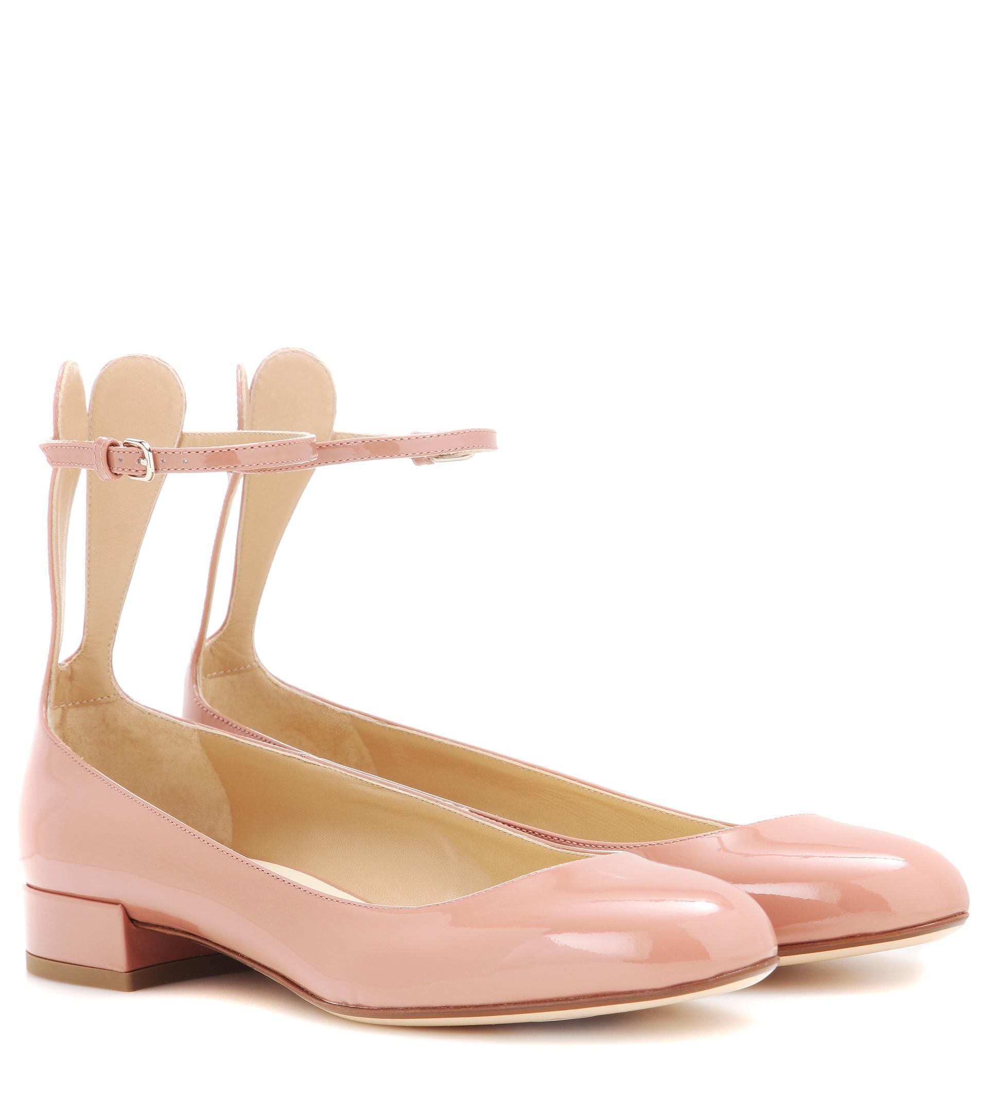 Francesco Russo Leather ballerinas BUrAuUnbA