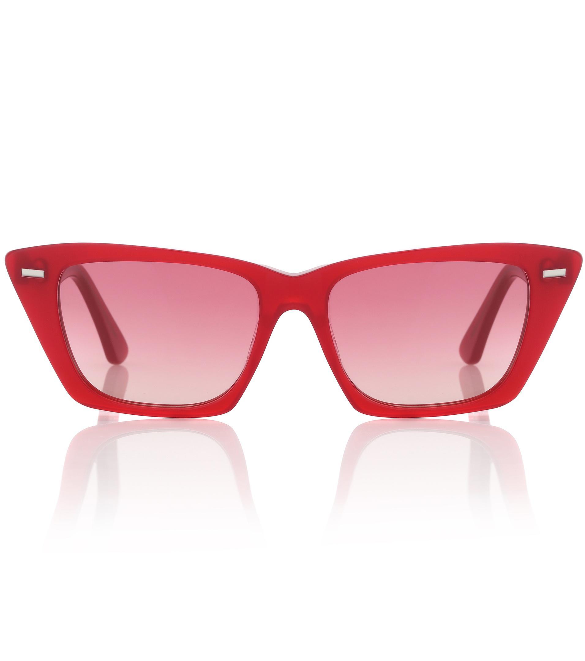 8fb55e8a8d1 Lyst - Lunettes de soleil Ingrid Acne Studios en coloris Rouge - 41 ...