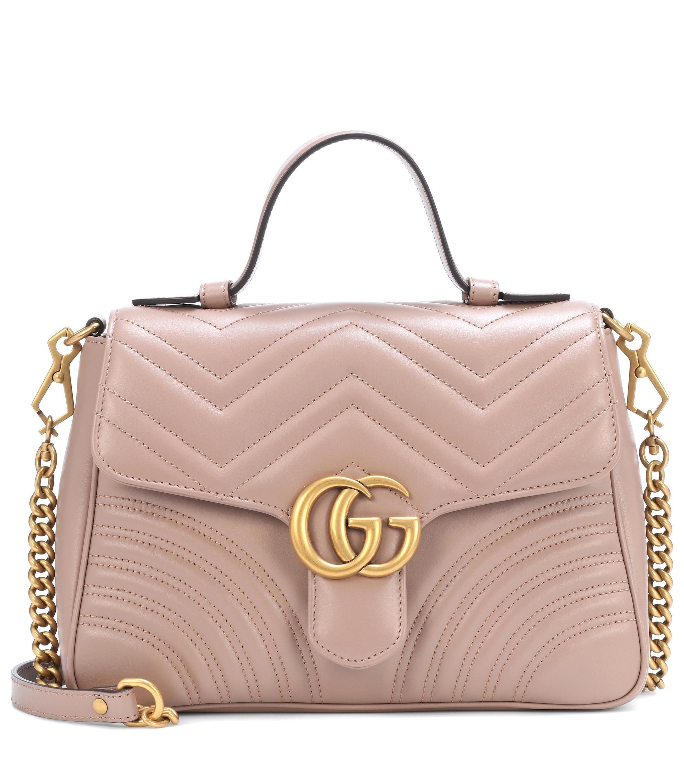 404b387ebbf Gucci. Women s GG Marmont Small Shoulder Bag