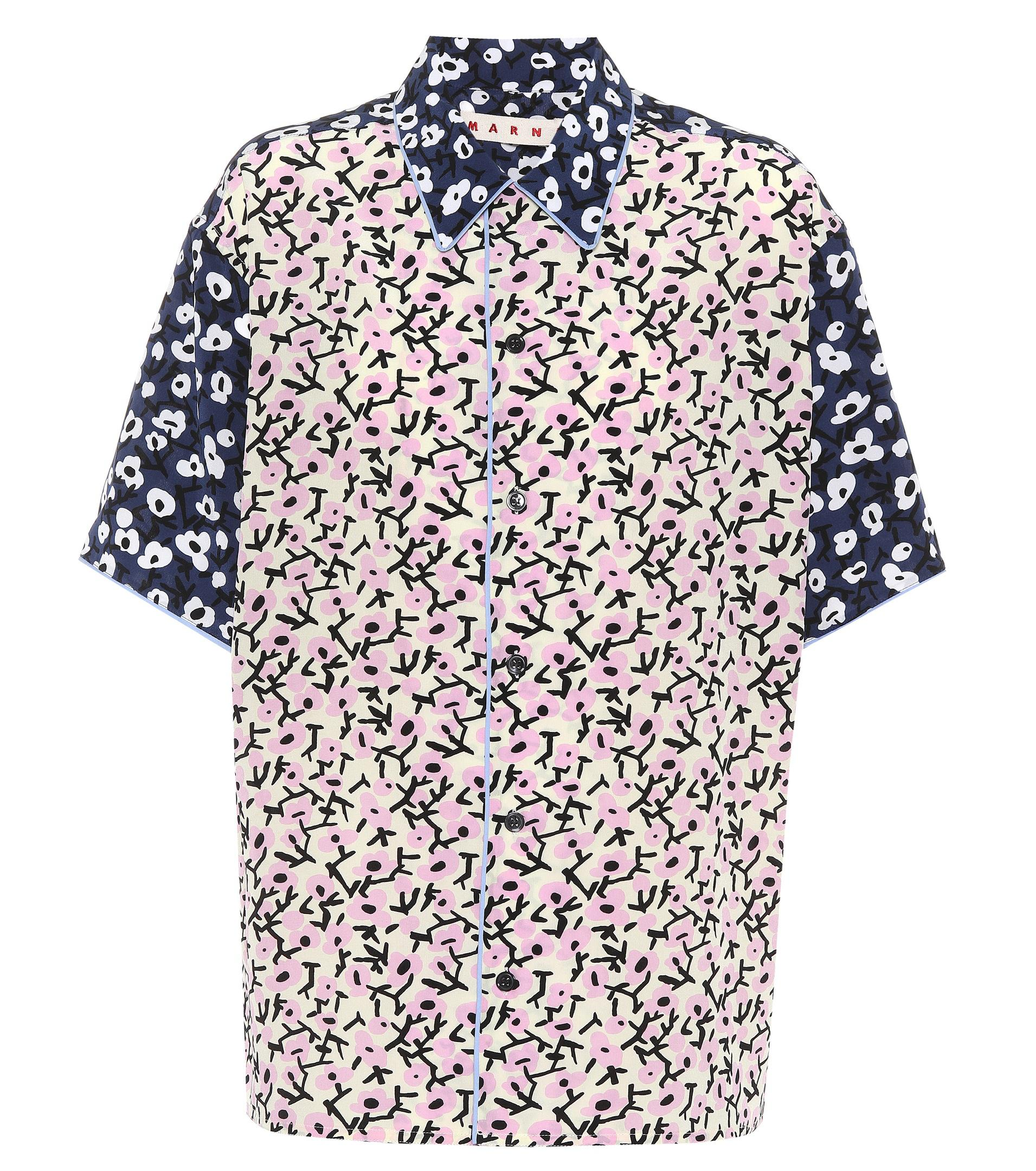 Sneakernews For Sale floral print shirt - Multicolour Marni Discount Outlet New Buy Cheap Get To Buy 5Vi9J