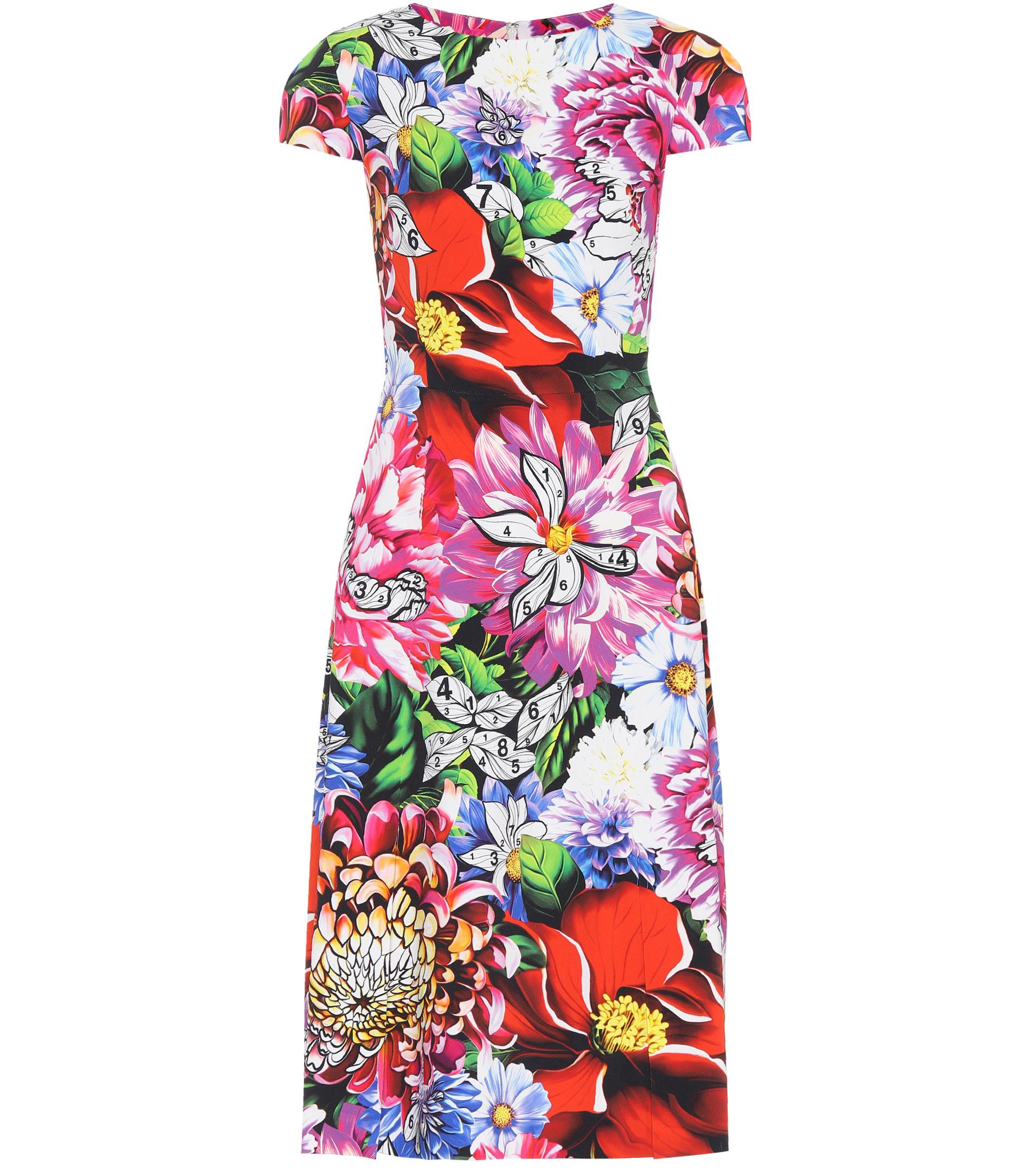 floral print bubble dress - Multicolour Mary Katrantzou x2tp1