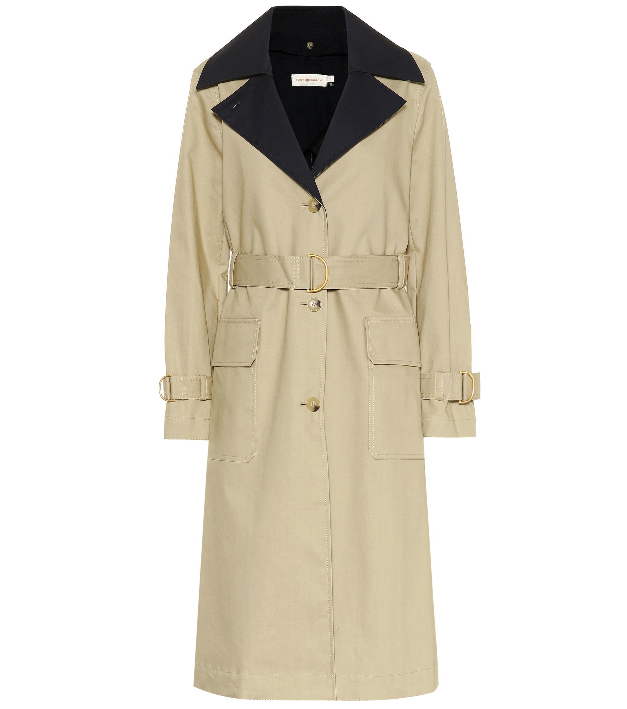 08aa1e40ac8e Tory Burch. Women s Ashby Cotton Trench Coat