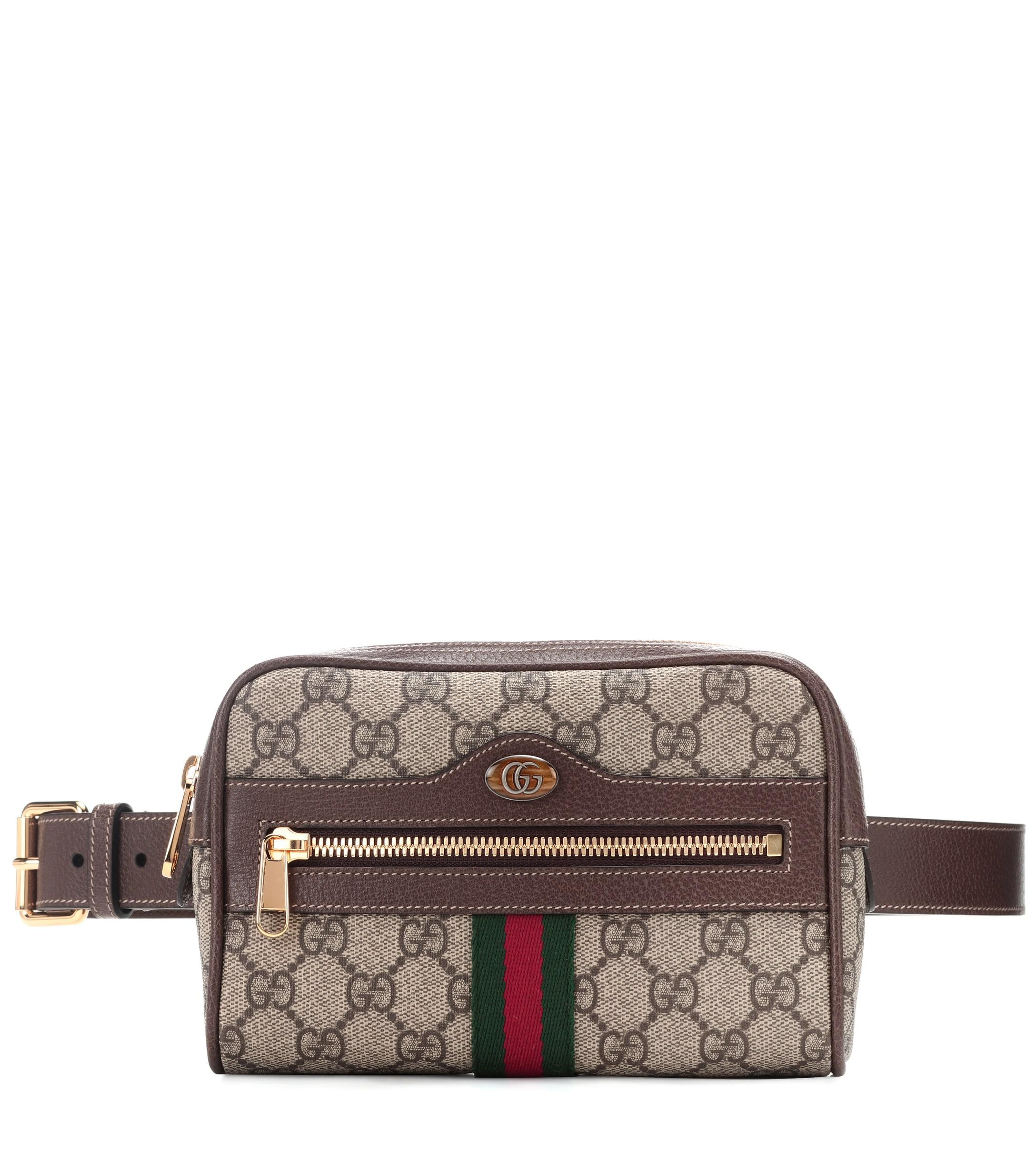 f4ee3ac0f3a Gucci Ophidia GG Supreme Small Belt Bag in Brown - Save ...