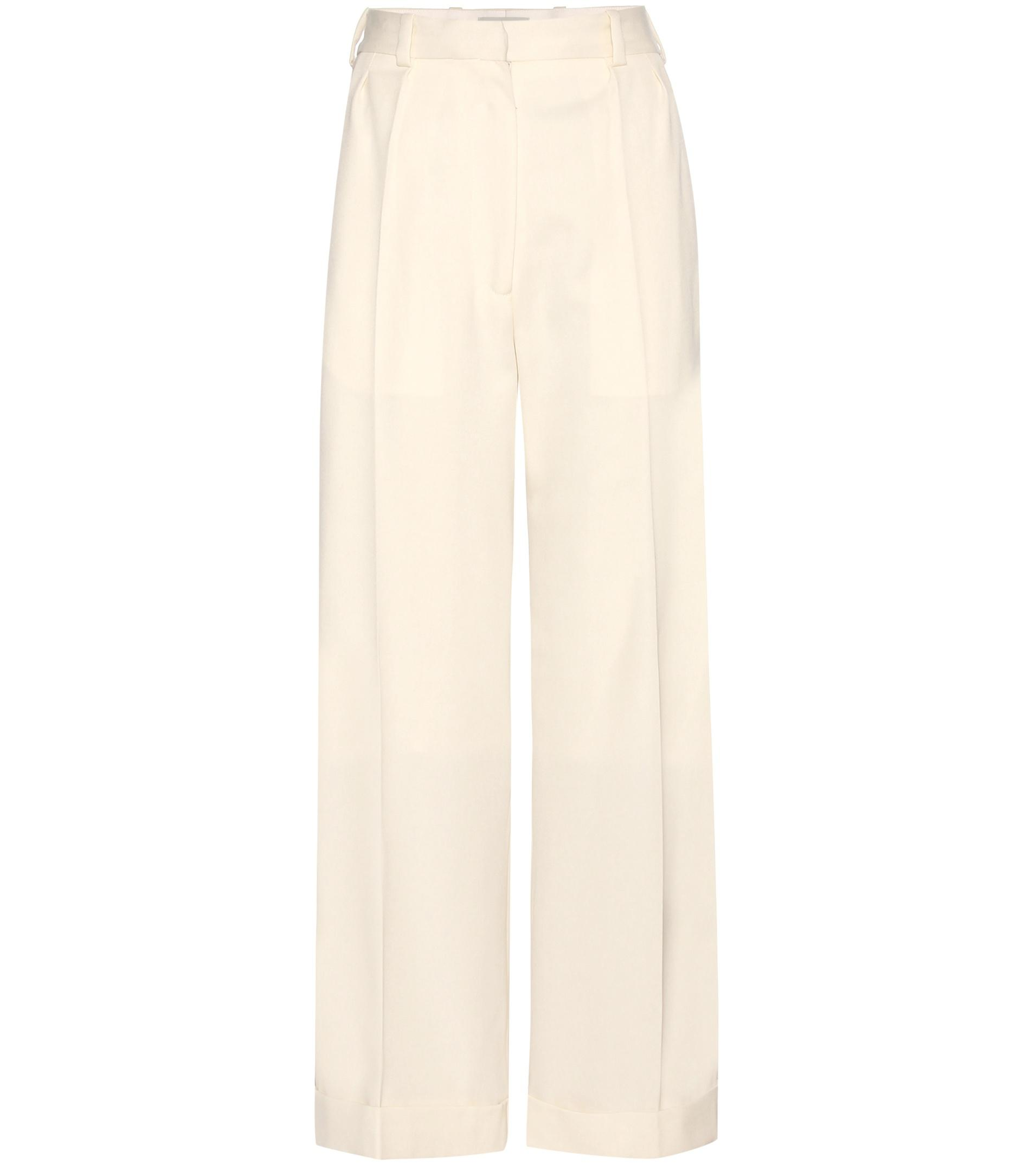 Cropped wide-leg wool trousers Hillier Bartley Yx7ye9