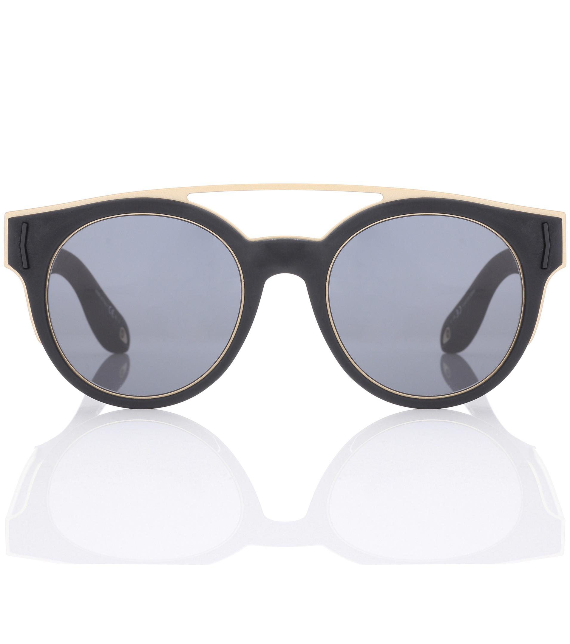 e4df053dcfe Lyst - Givenchy Round Sunglasses in Black