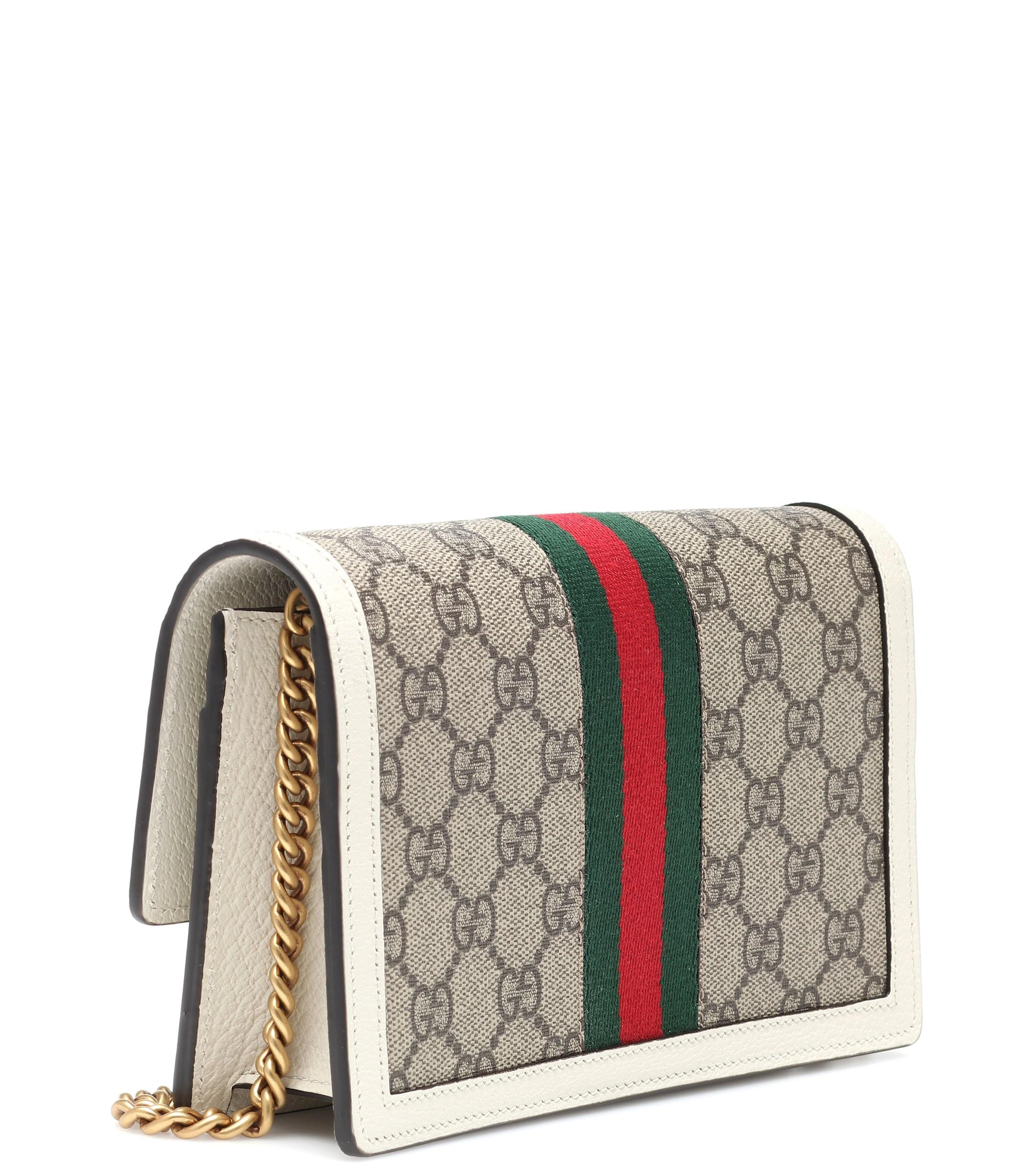 96d05fd5caa3 Gucci - Multicolor Queen Margaret GG Supreme Mini Shoulder Bag - Lyst. View  fullscreen