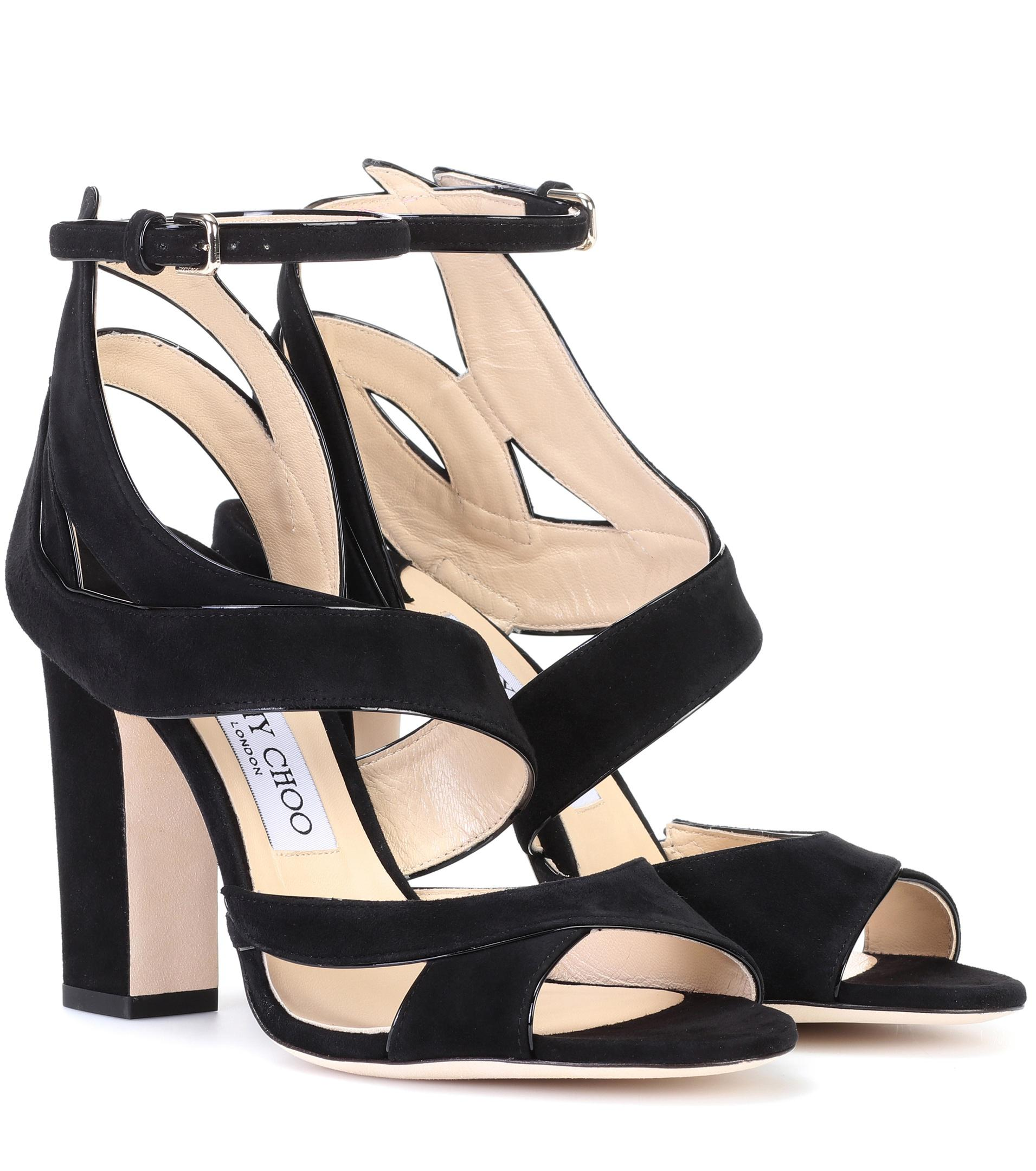 Falcon 100 sandals - Black Jimmy Choo London dW9zFpBShh