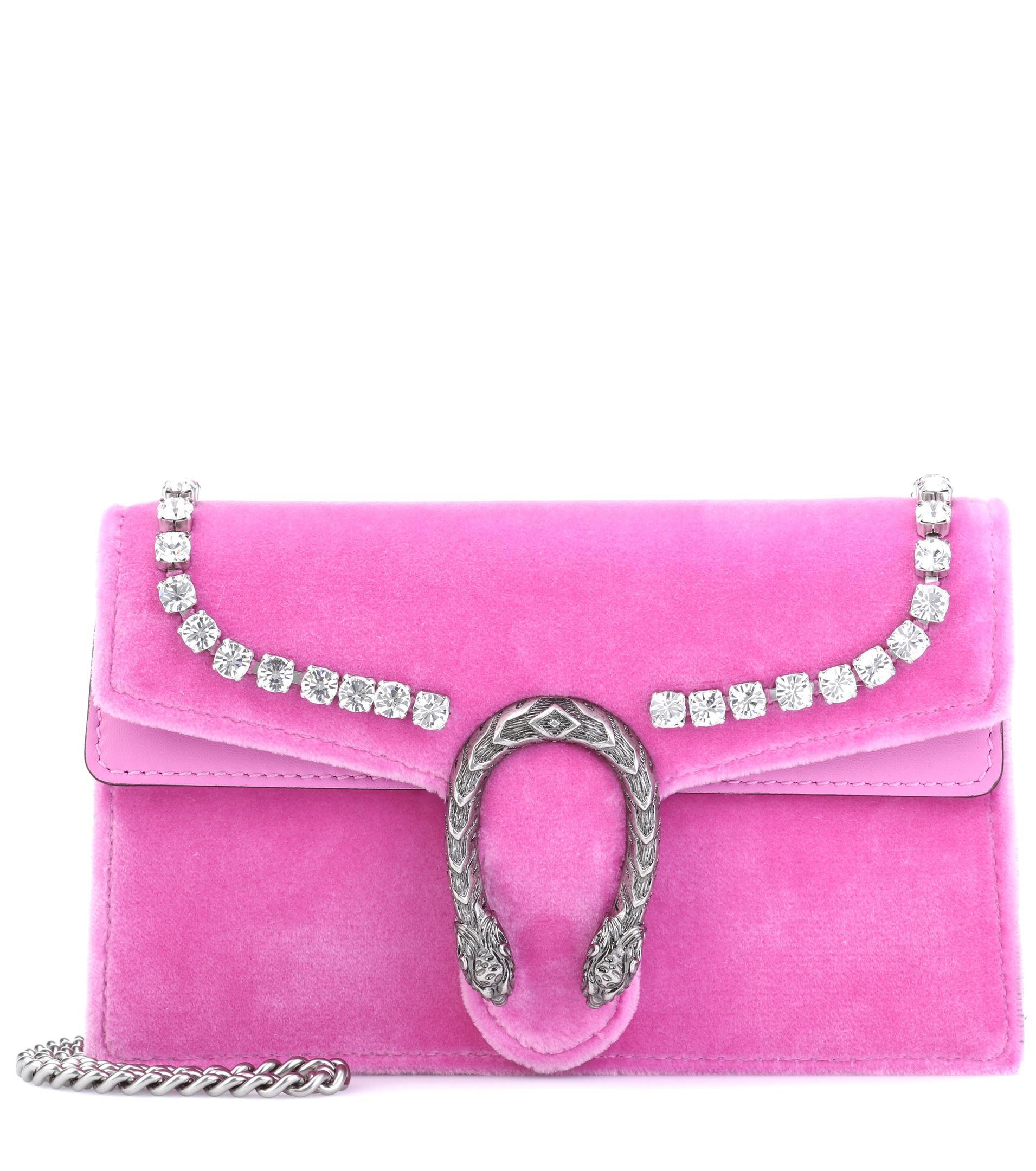 2b656b74d48 Women GG Blooms Dionysus Zipped Purse Color--PINK