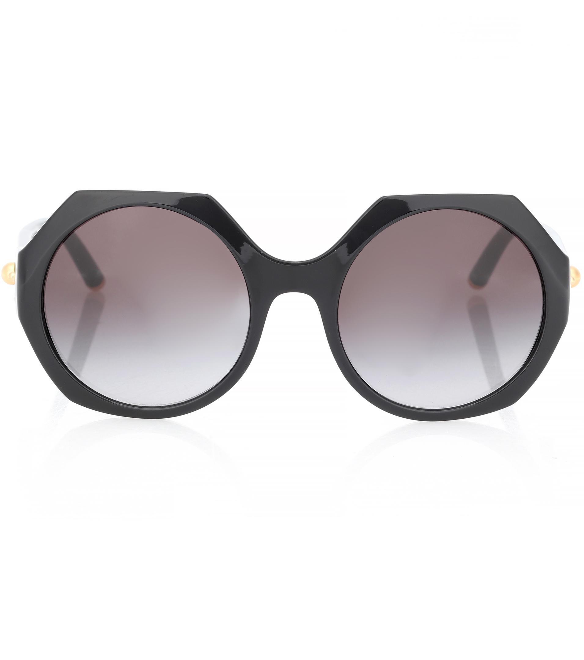 d06abb529dbff4 Lyst - Lunettes de soleil Dolce   Gabbana en coloris Noir