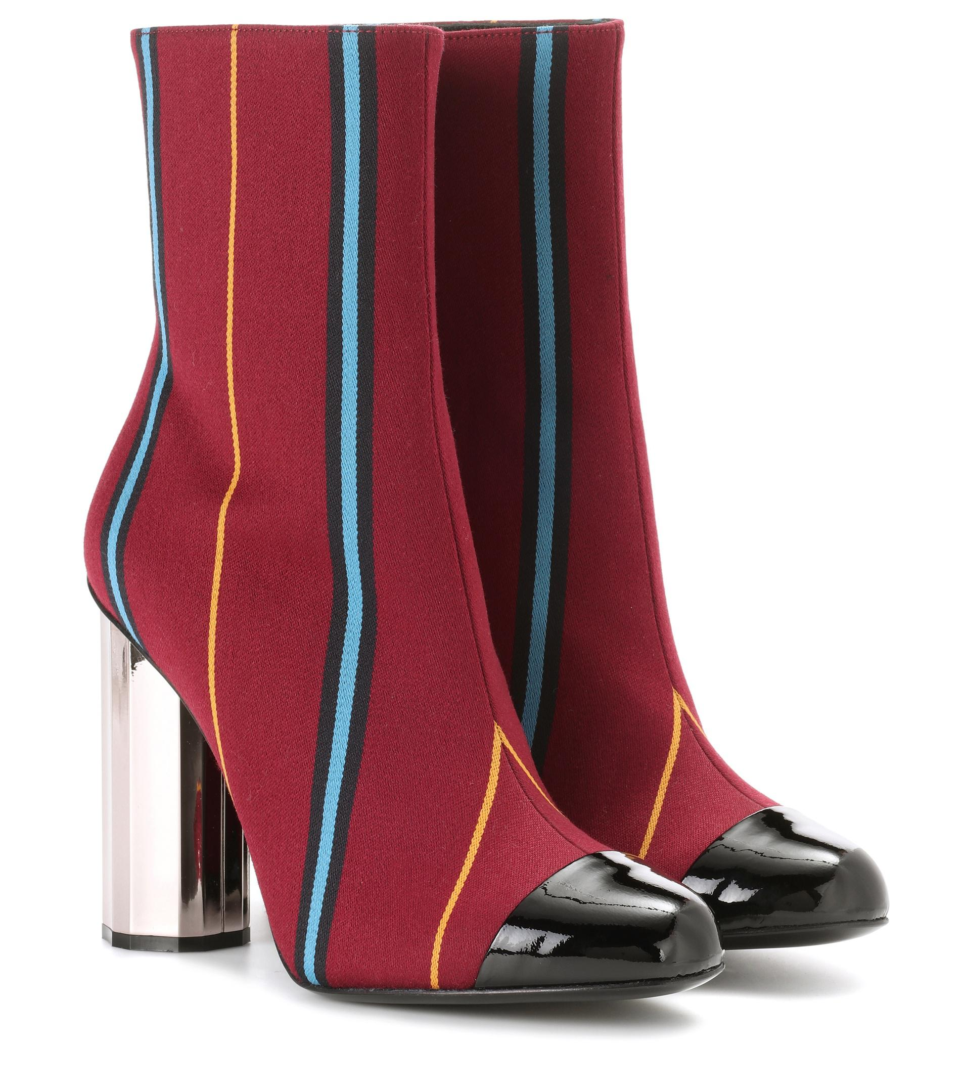 MARCO DE VINCENZO Velvet ankle boots Outlet Free Shipping Cheap Sale Inexpensive N9dnn