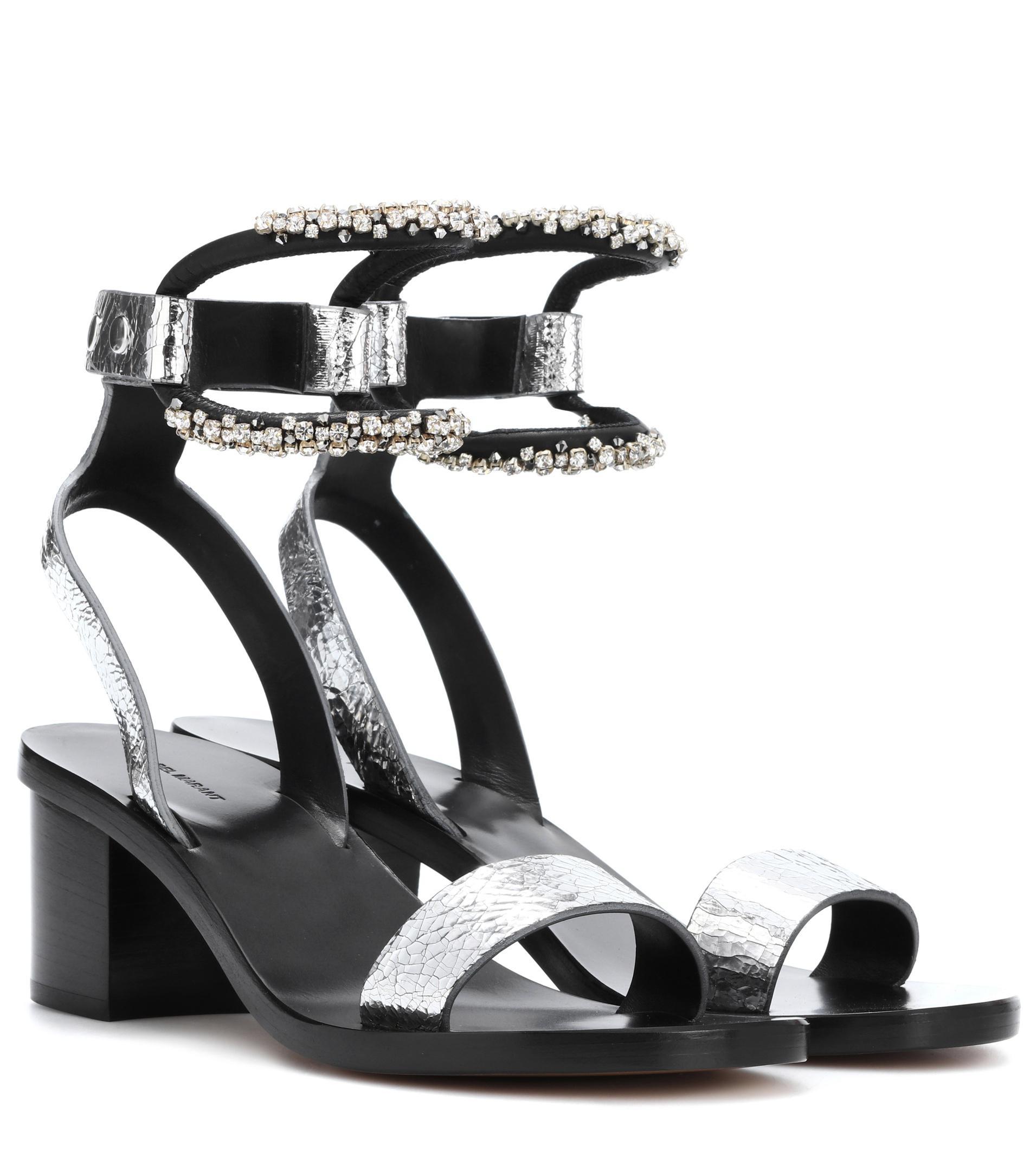 Jelipa embellished leather sandals Isabel Marant PrEh4Y14K