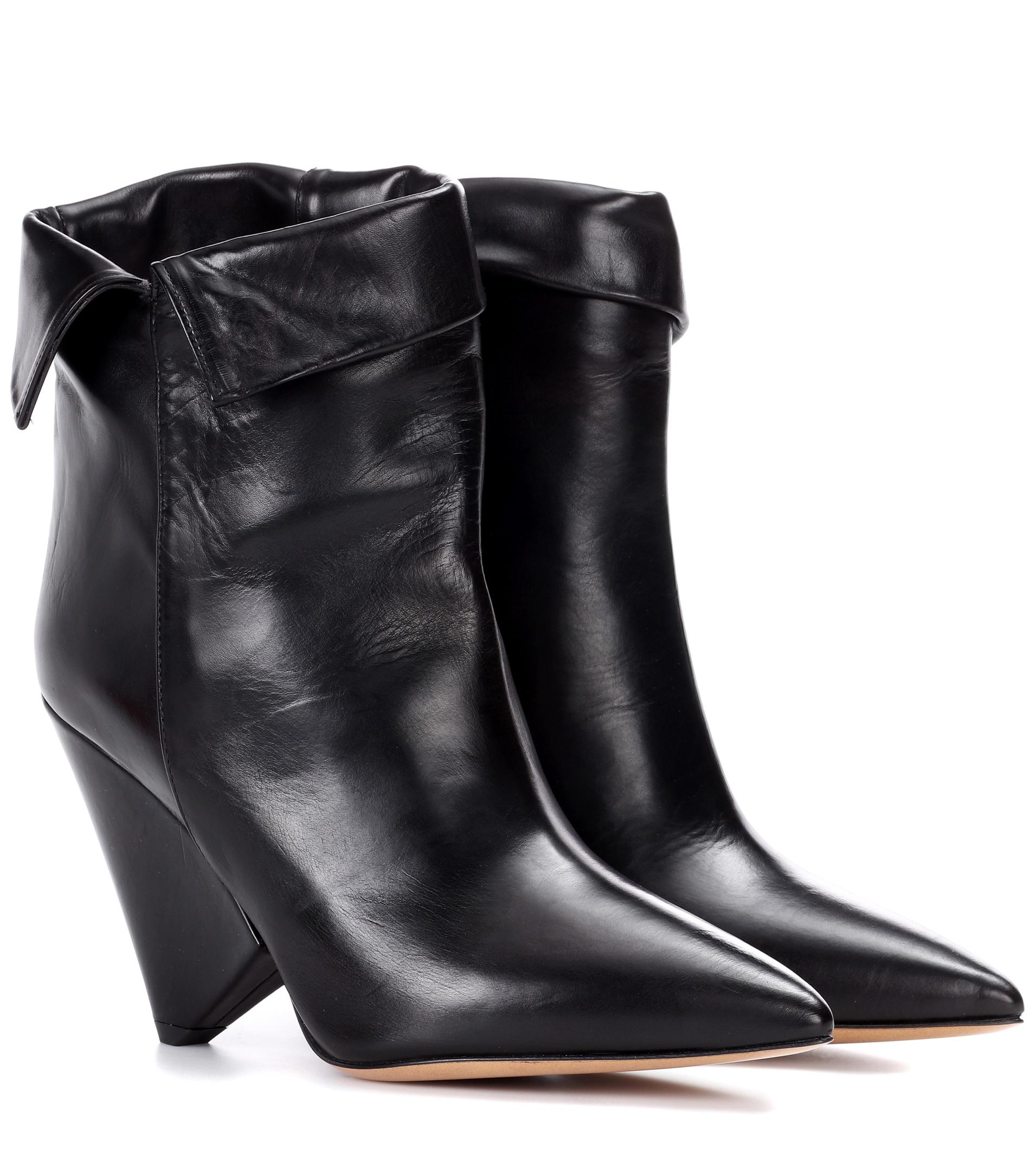 Isabel Marant Black Luliana Boots RVpmc