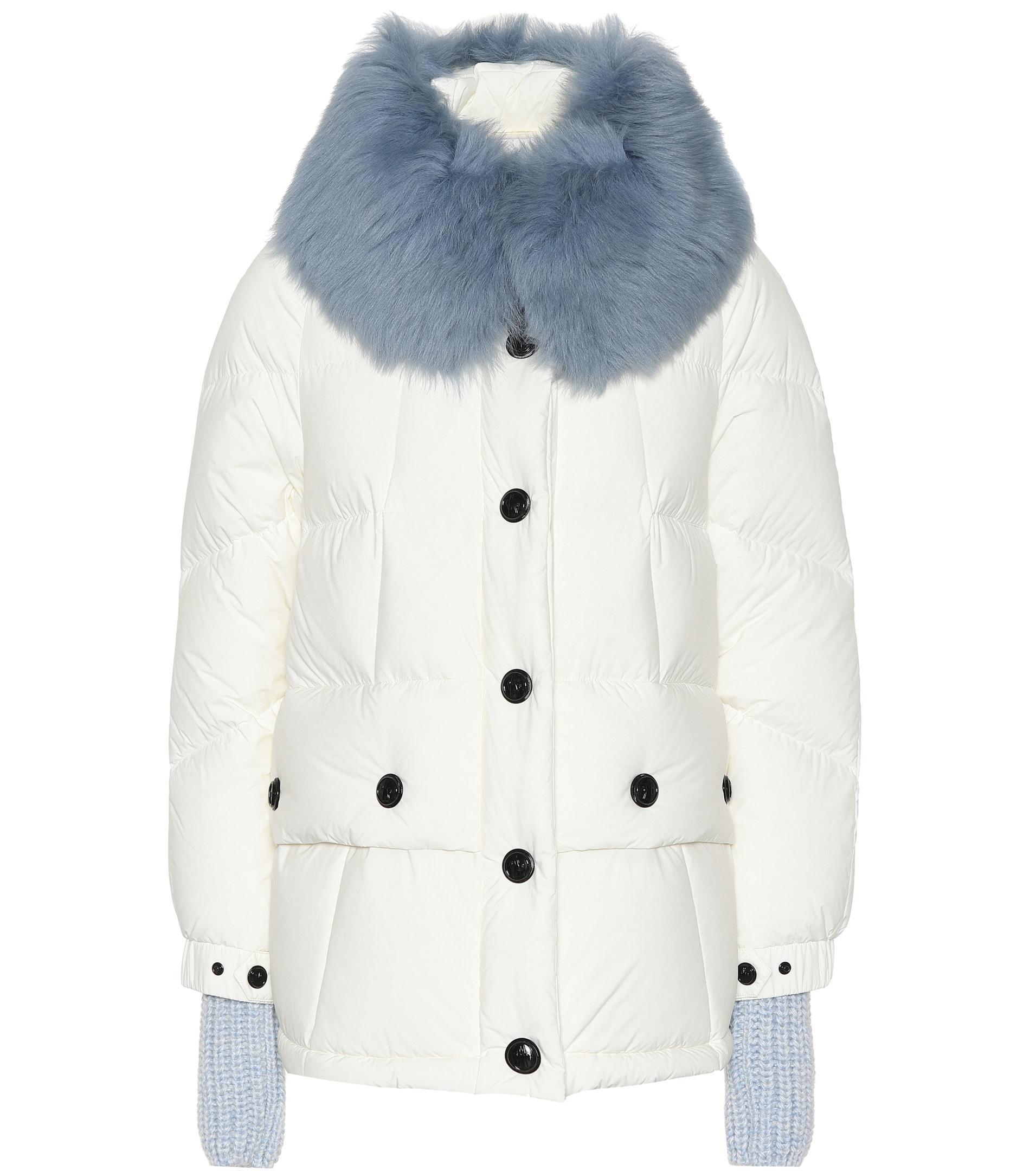 76e53c86ba2e Lyst - Moncler Grenoble Carezza Down Ski Jacket in White